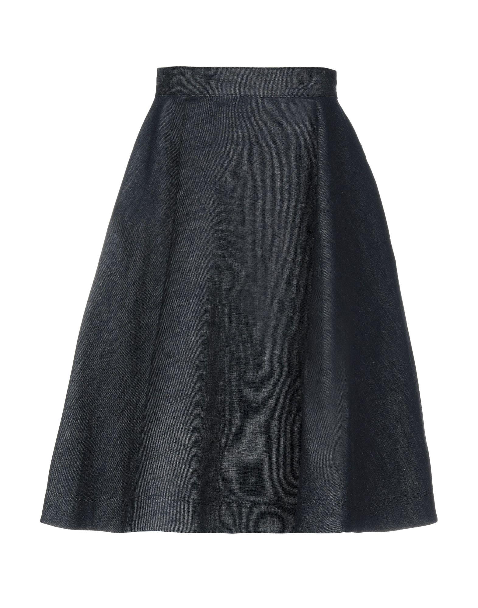 《送料無料》CALVIN KLEIN 205W39NYC レディース デニムスカート ブルー 38 コットン 100%
