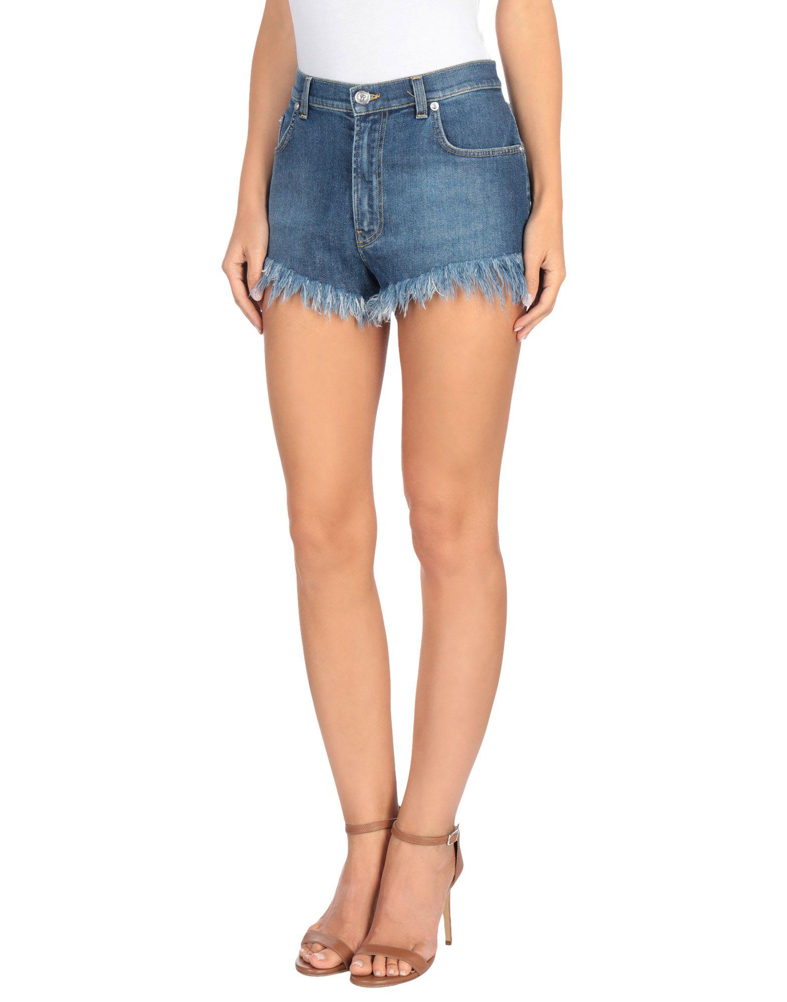 VERSUS VERSACE Джинсовые шорты шорты джинсовые lonsdale lonsdale lo789emcdg82