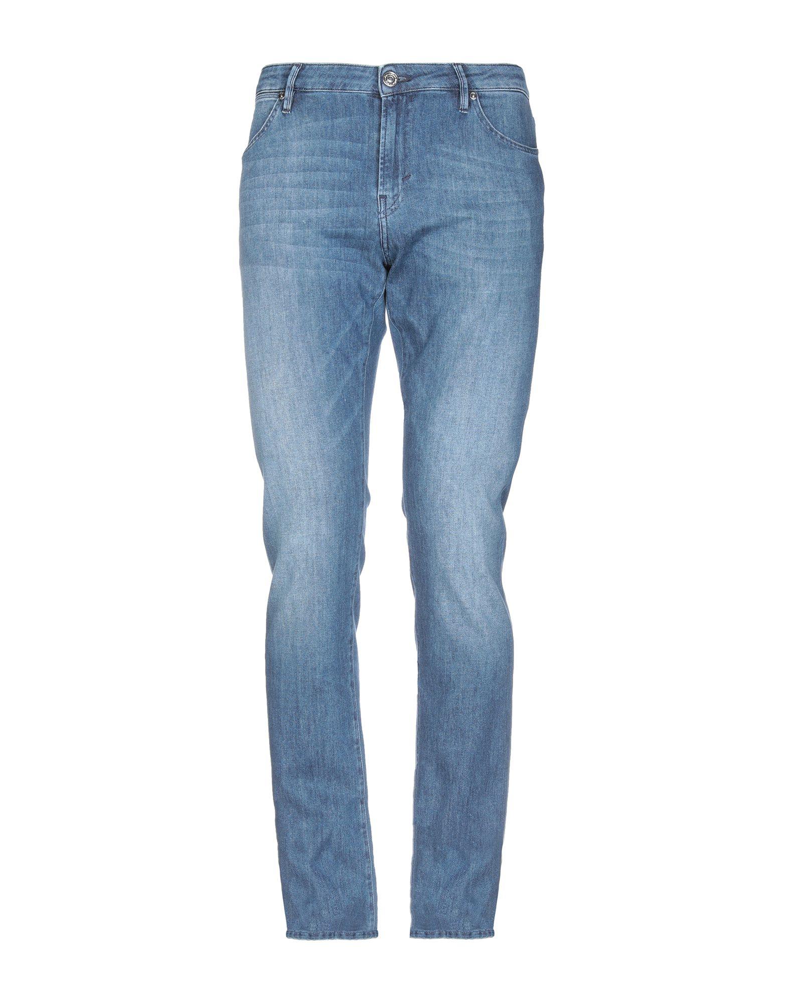 《送料無料》PT05 メンズ ジーンズ ブルー 34 コットン 92% / エメリー 6% / ポリウレタン 2%