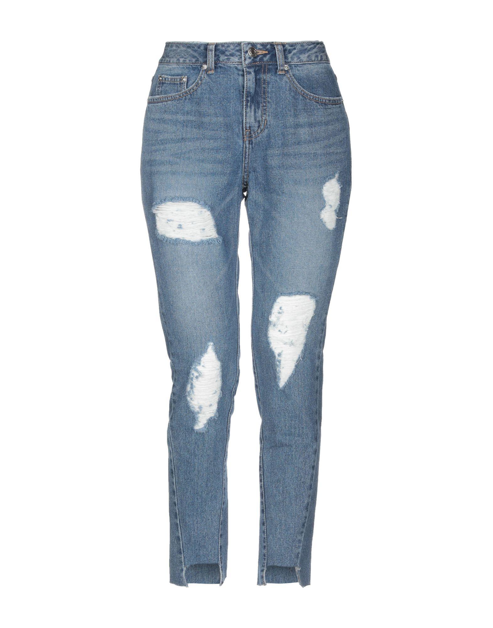 SJYP Джинсовые брюки sjyp джинсовые брюки капри