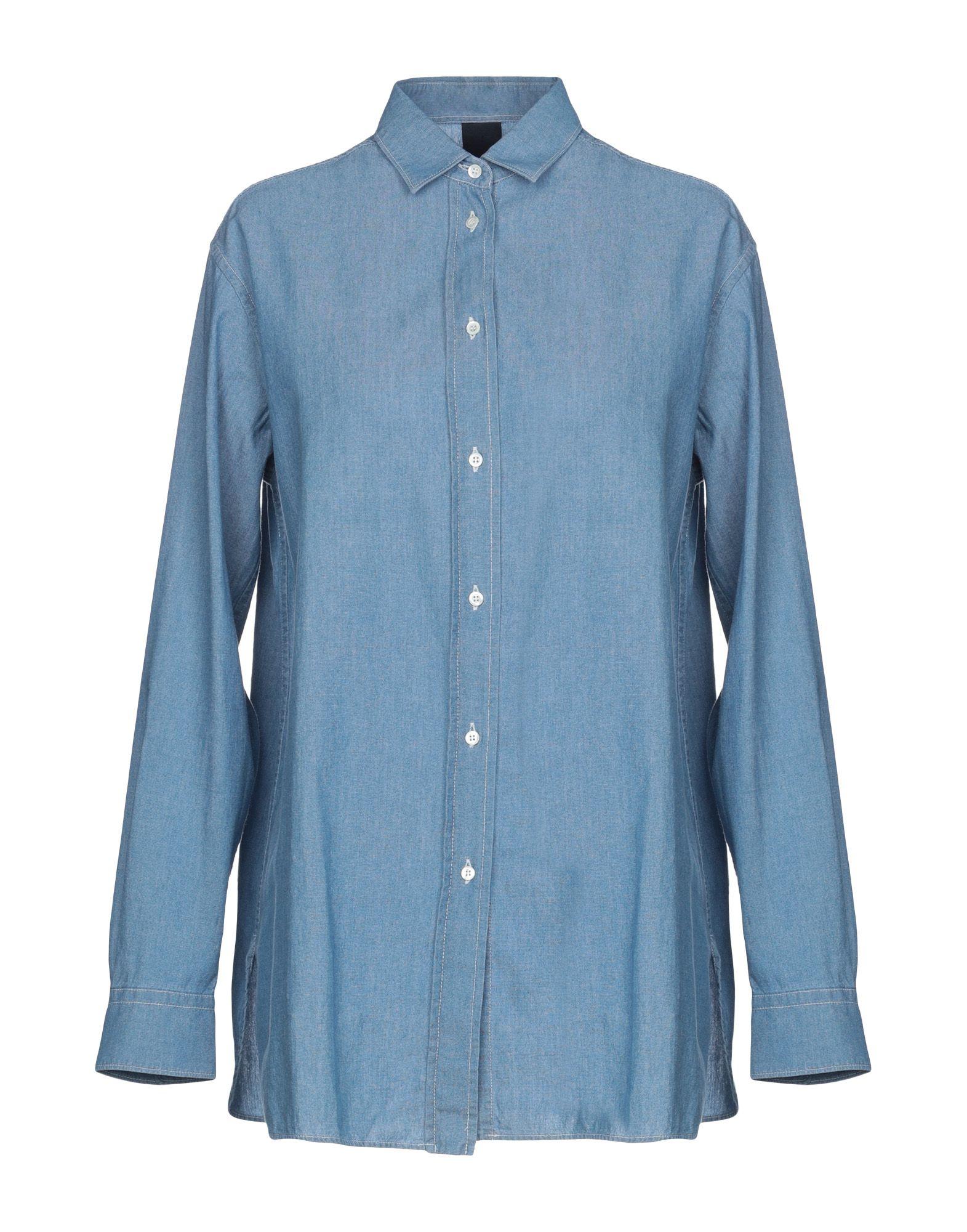 ASPESI Джинсовая рубашка недорго, оригинальная цена