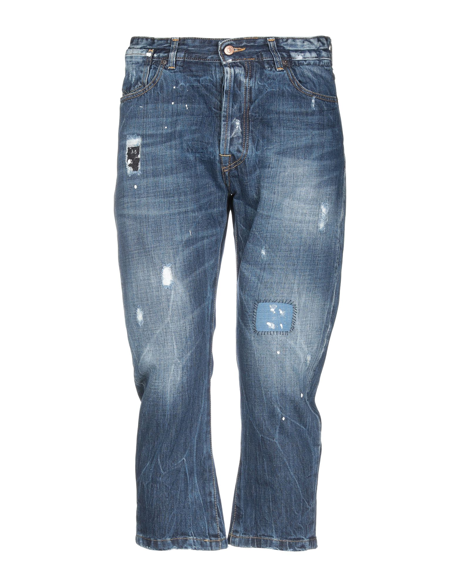 《セール開催中》LABELROUTE メンズ ジーンズ ブルー 34 コットン 100%