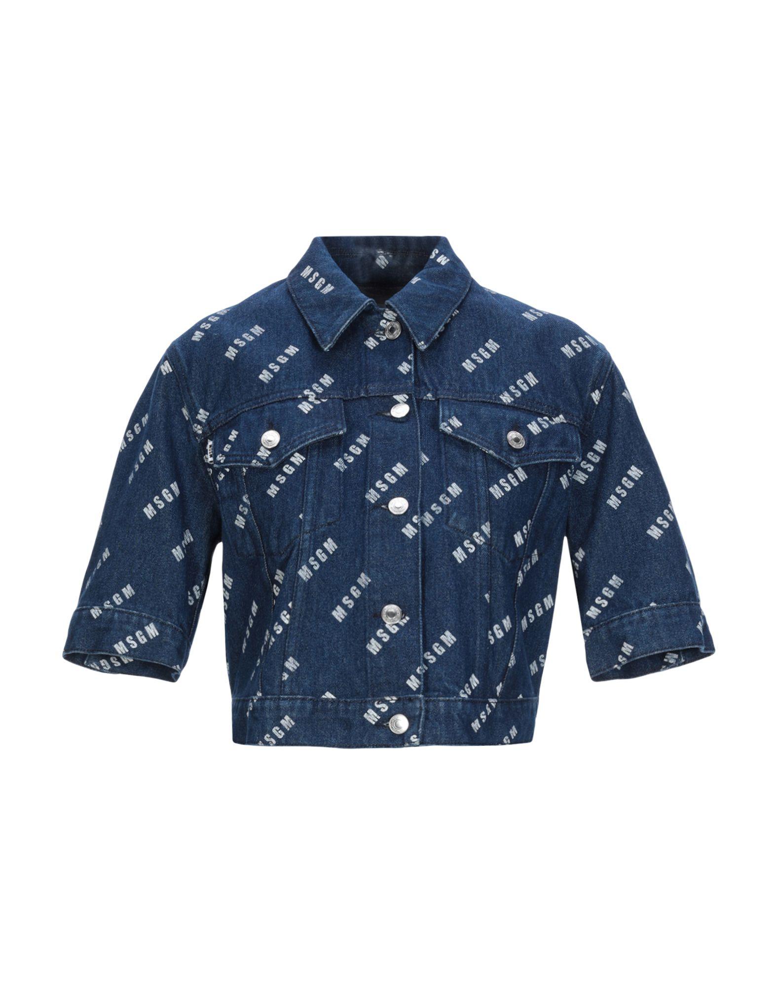 MSGM Джинсовая верхняя одежда брендовая одежда
