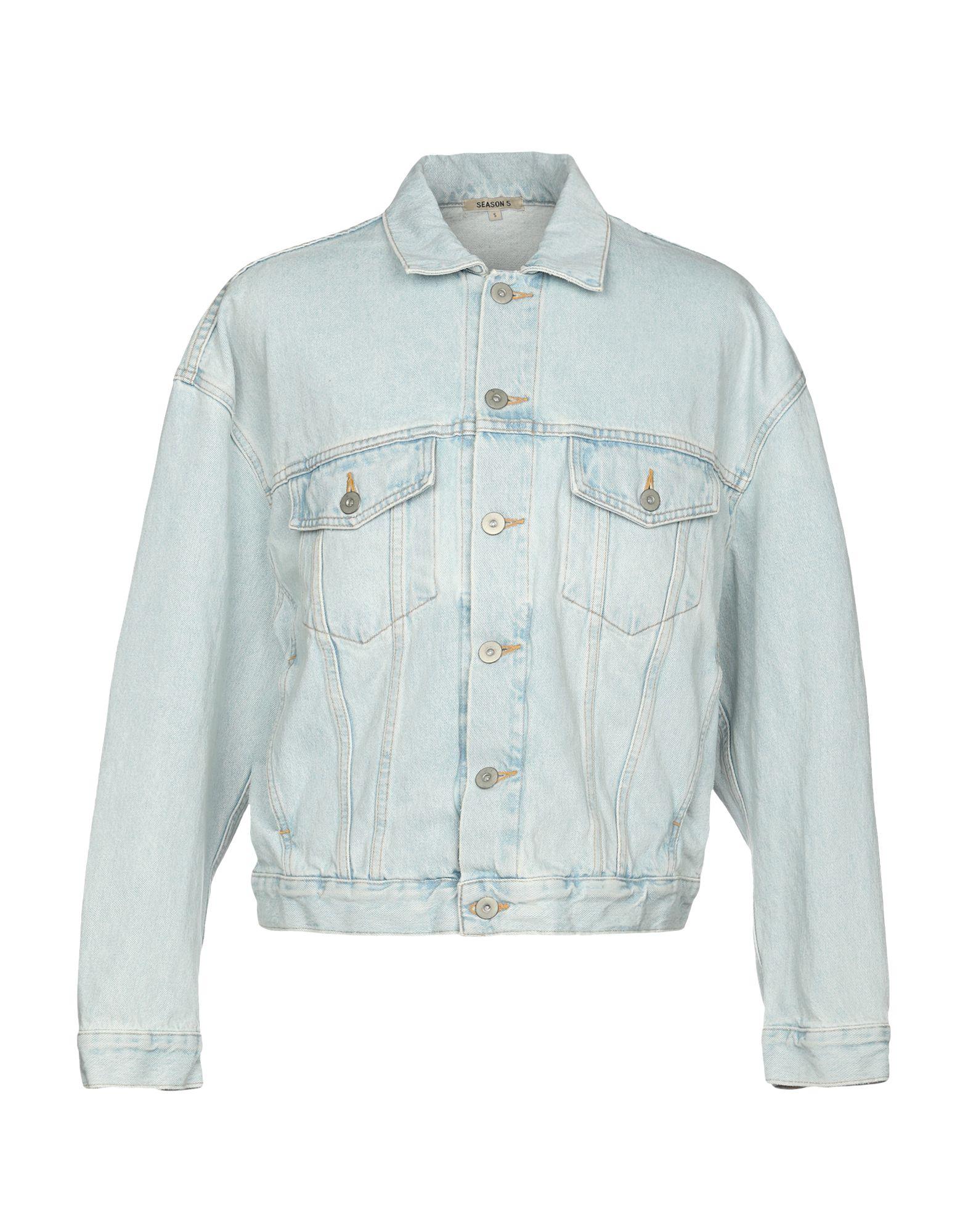 YEEZY Джинсовая верхняя одежда yeezy джинсовая верхняя одежда