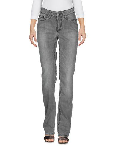 Фото 2 - Джинсовые брюки от CAMBIO серого цвета