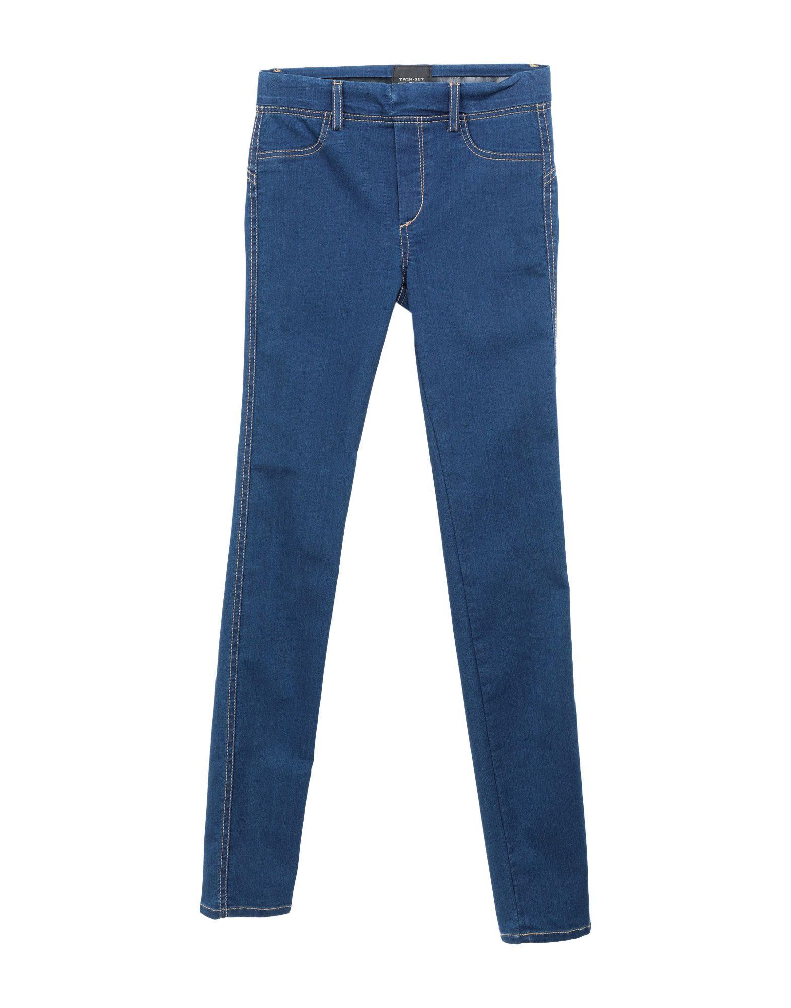 TWIN-SET JEANS Джинсовые брюки платье twin set simona barbieri twin set simona barbieri tw005ewzlx76