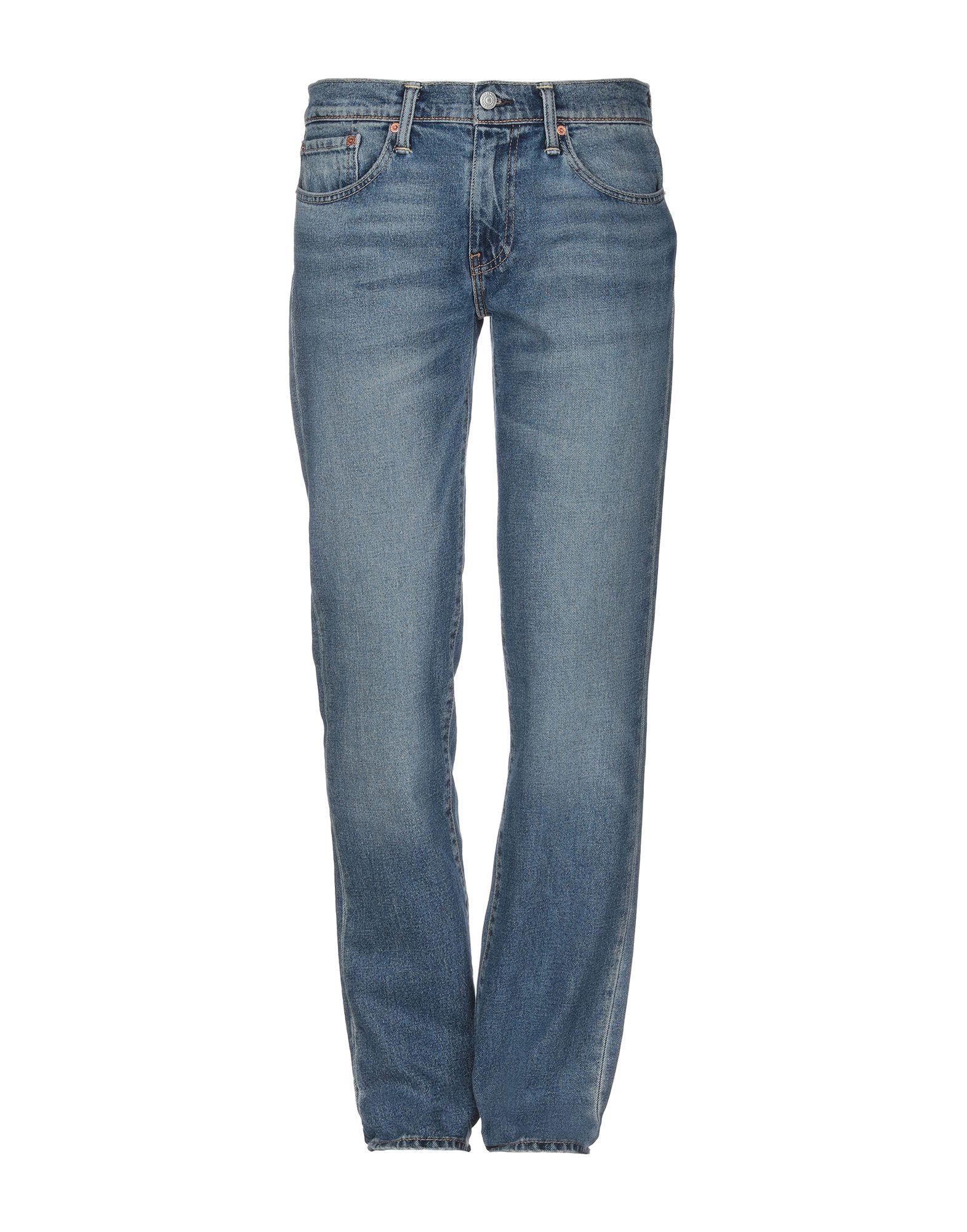LEVI'S RED TAB Джинсовые брюки slim fit faded straight jeans