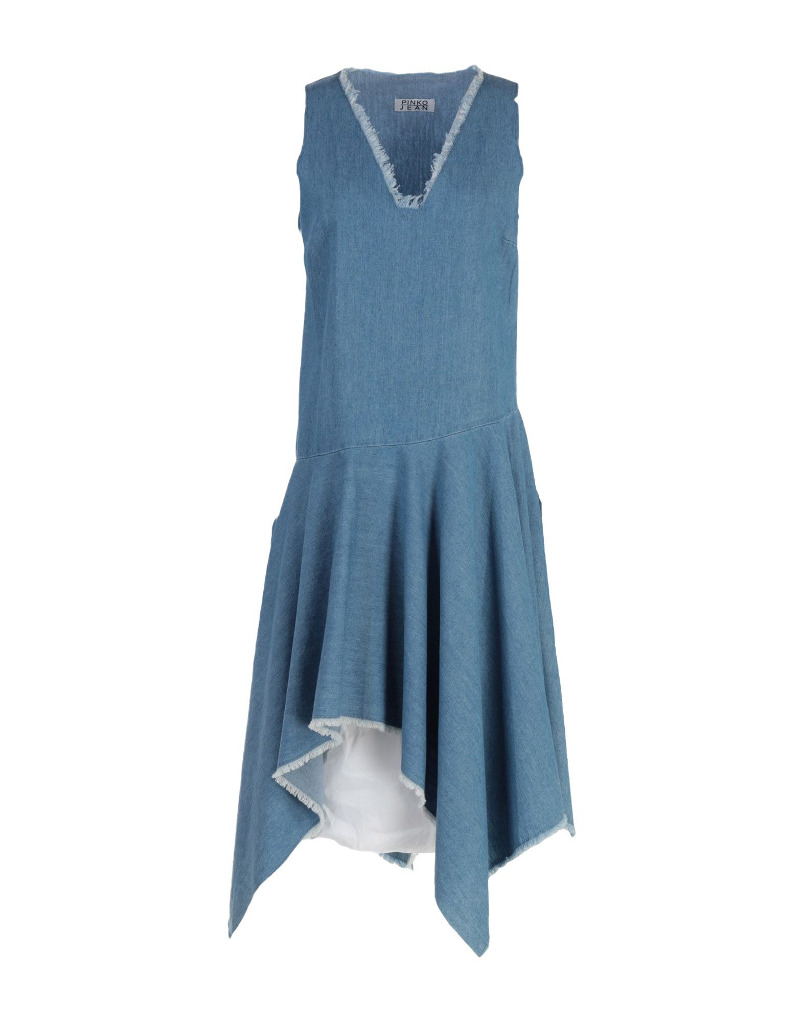 PINKO Короткое платье платье без рукавов printio семейная лодка