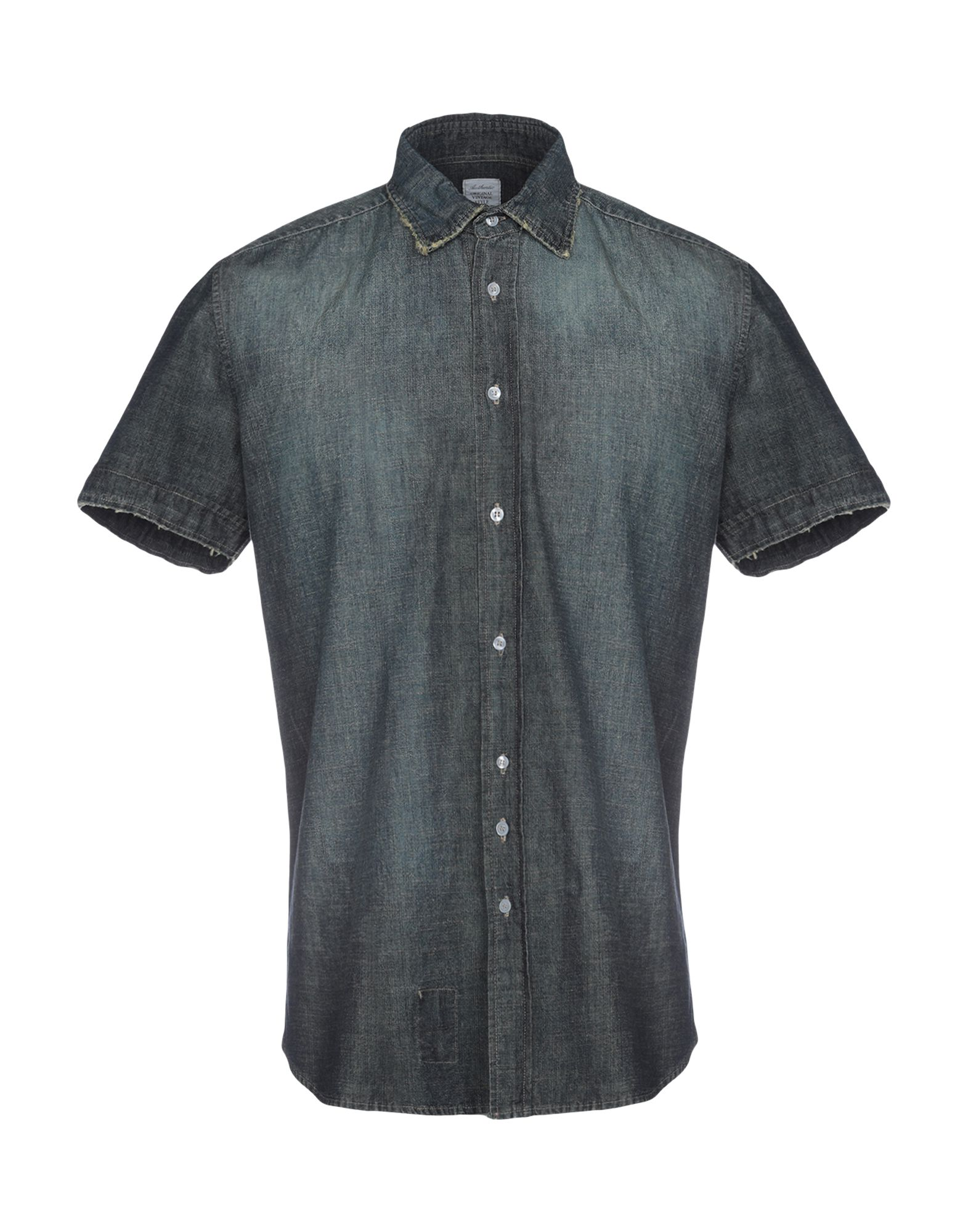 AUTHENTIC ORIGINAL VINTAGE STYLE Джинсовая рубашка [zob] original original j7kna 09 10 220v contactor original authentic 2pcs lot
