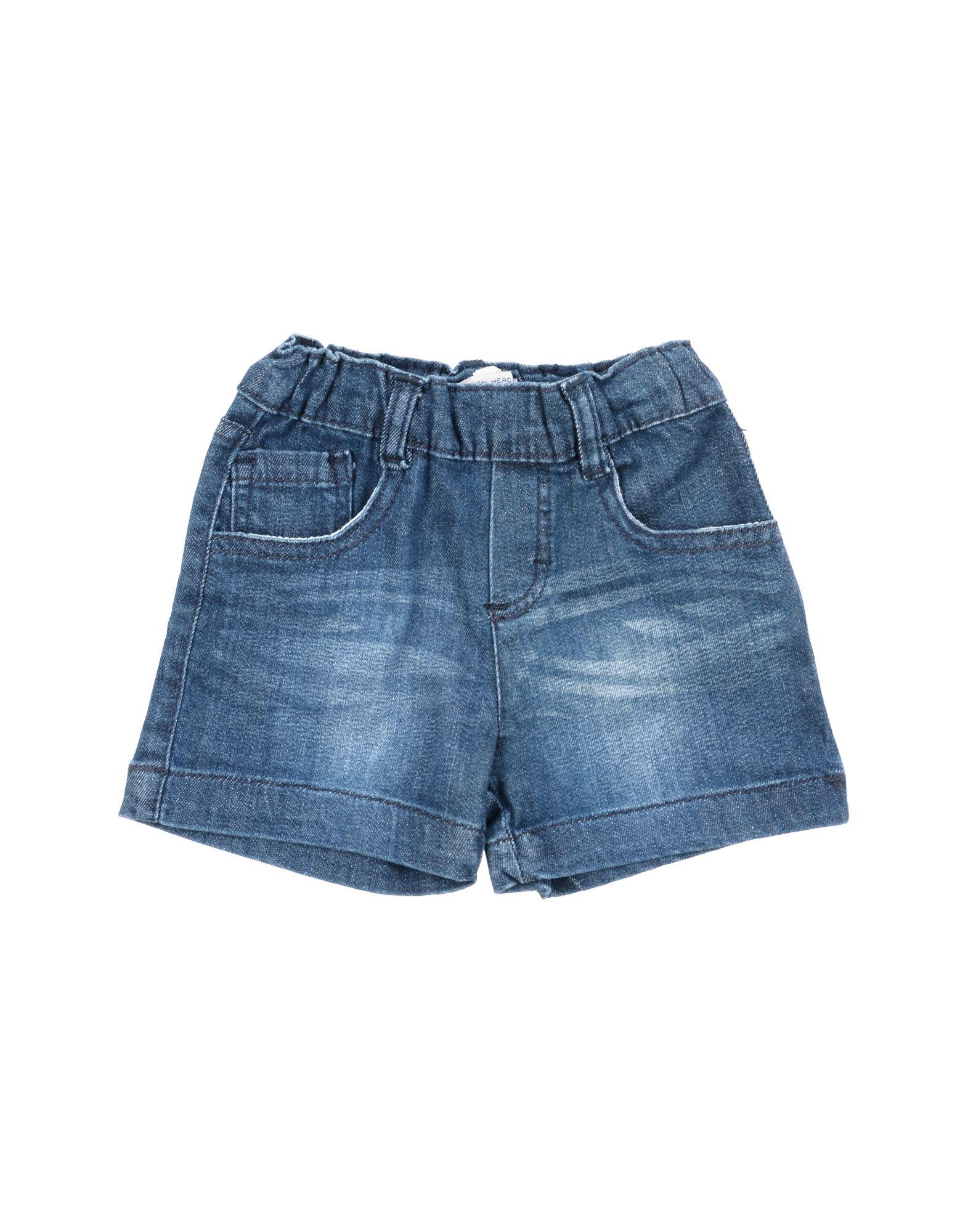 Short en jean silvian heach fille. bleu. 9...