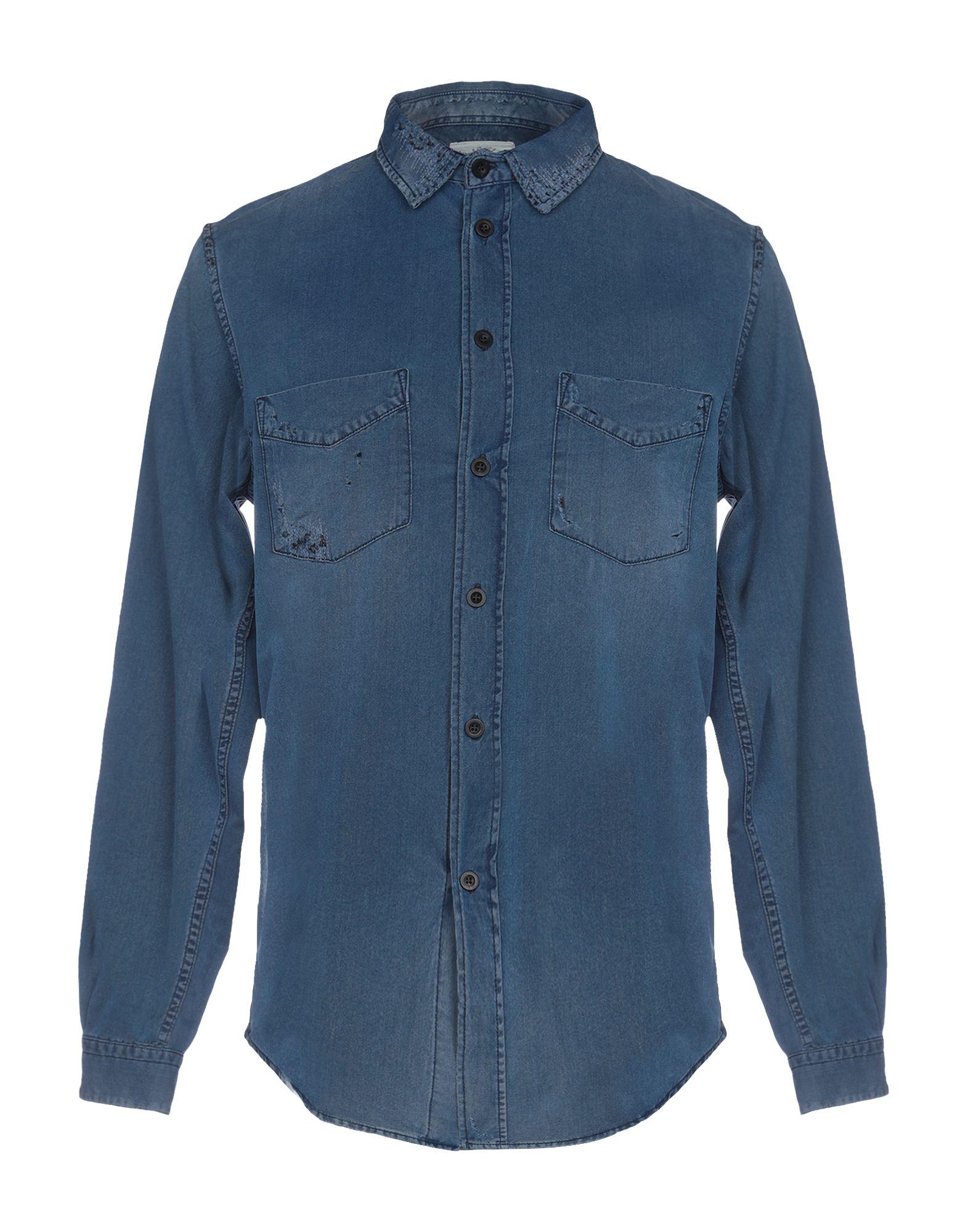 KENT & CURWEN Джинсовая рубашка