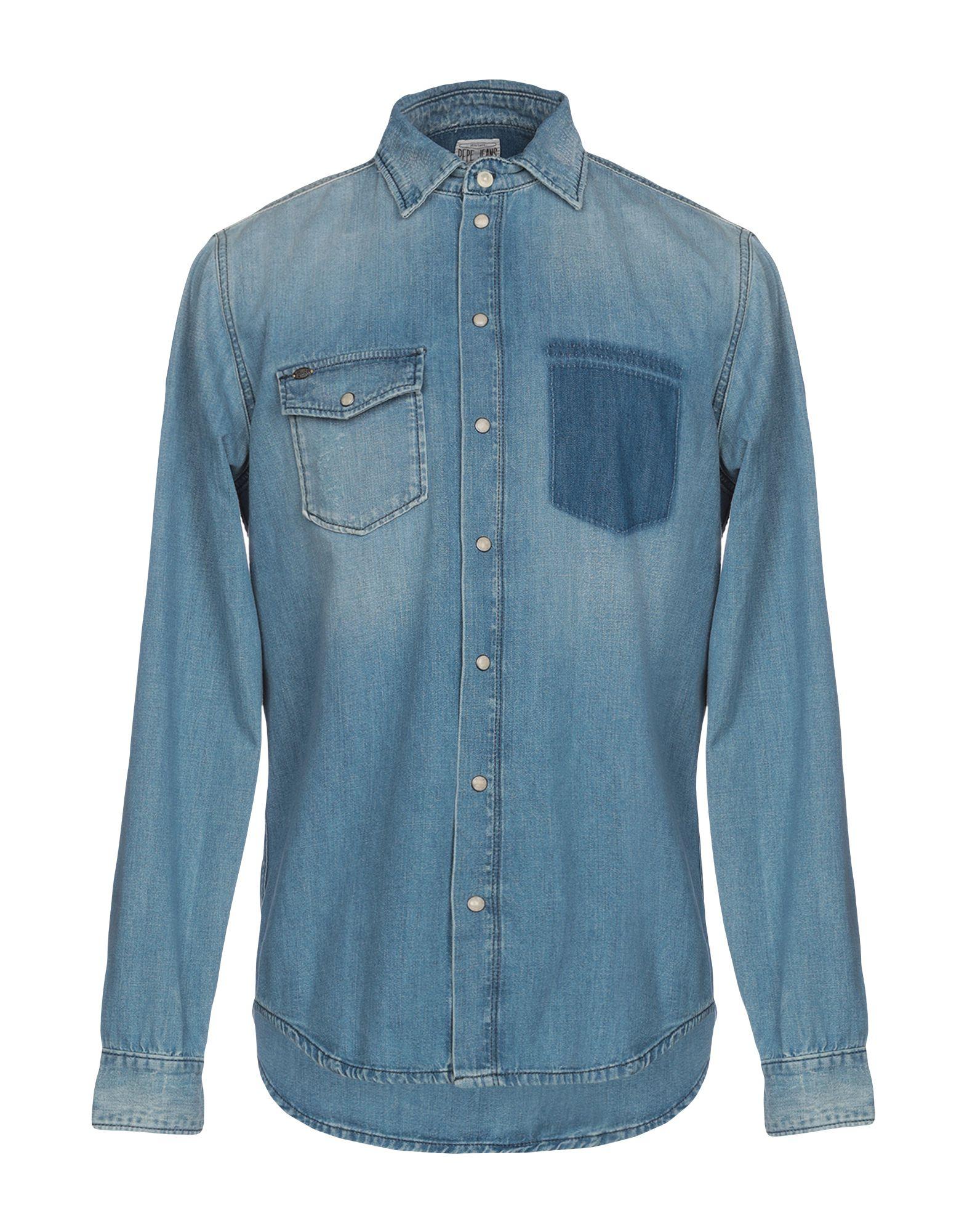 PEPE JEANS HERITAGE Джинсовая рубашка