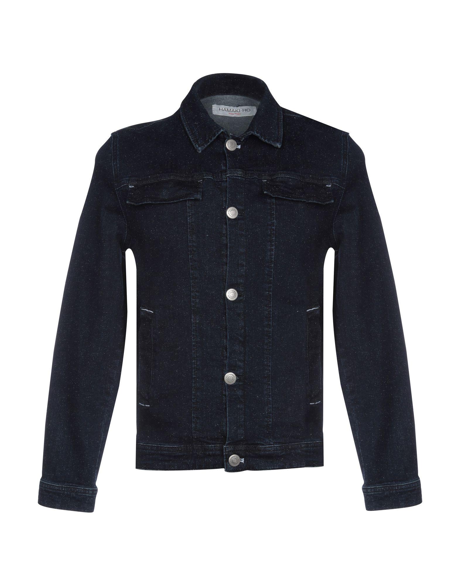 HAMAKI-HO Джинсовая верхняя одежда брендовая одежда