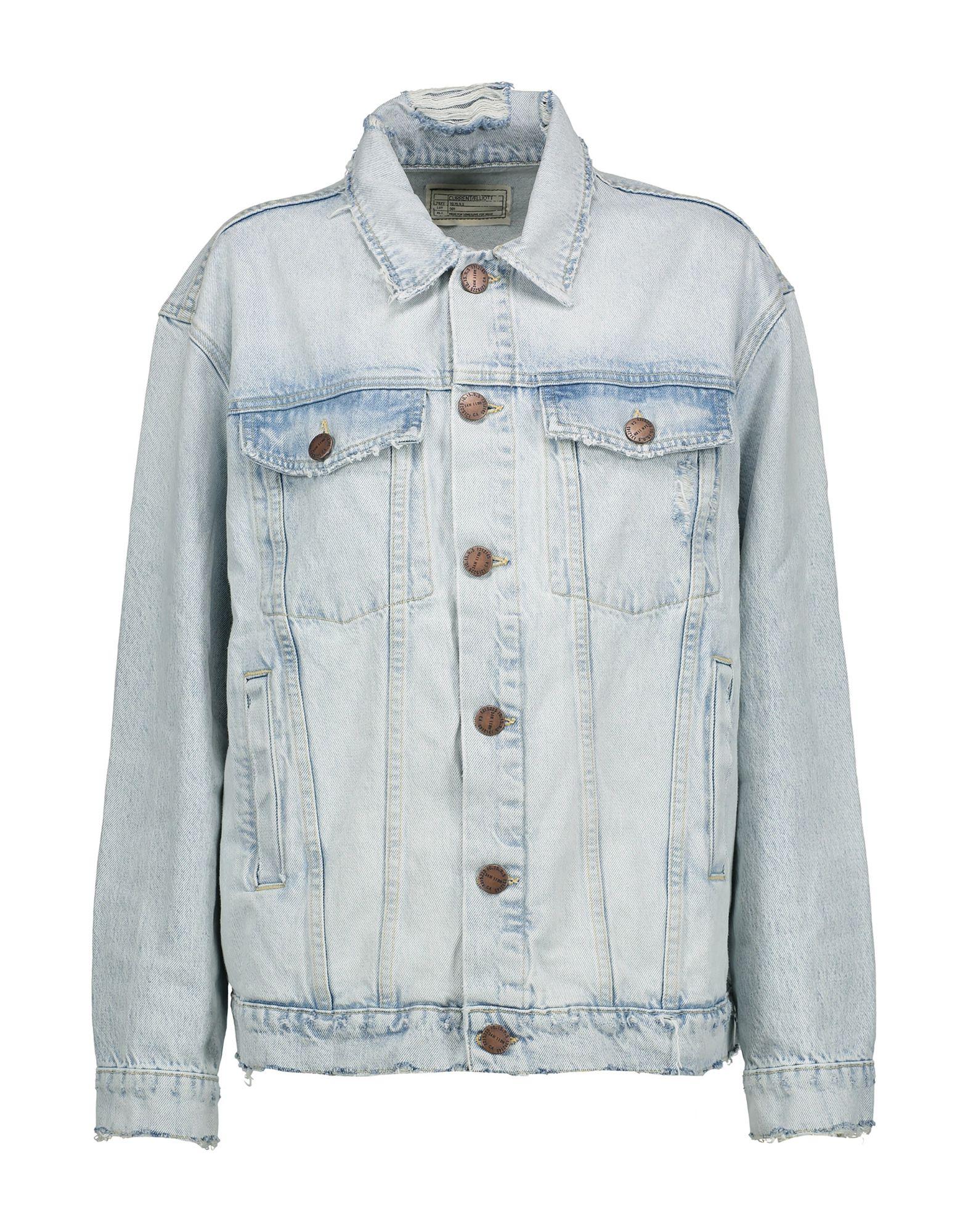CURRENT/ELLIOTT Джинсовая верхняя одежда брендовая одежда