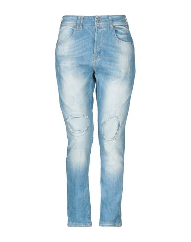 Купить Джинсовые брюки от MADE WITH LOVE синего цвета