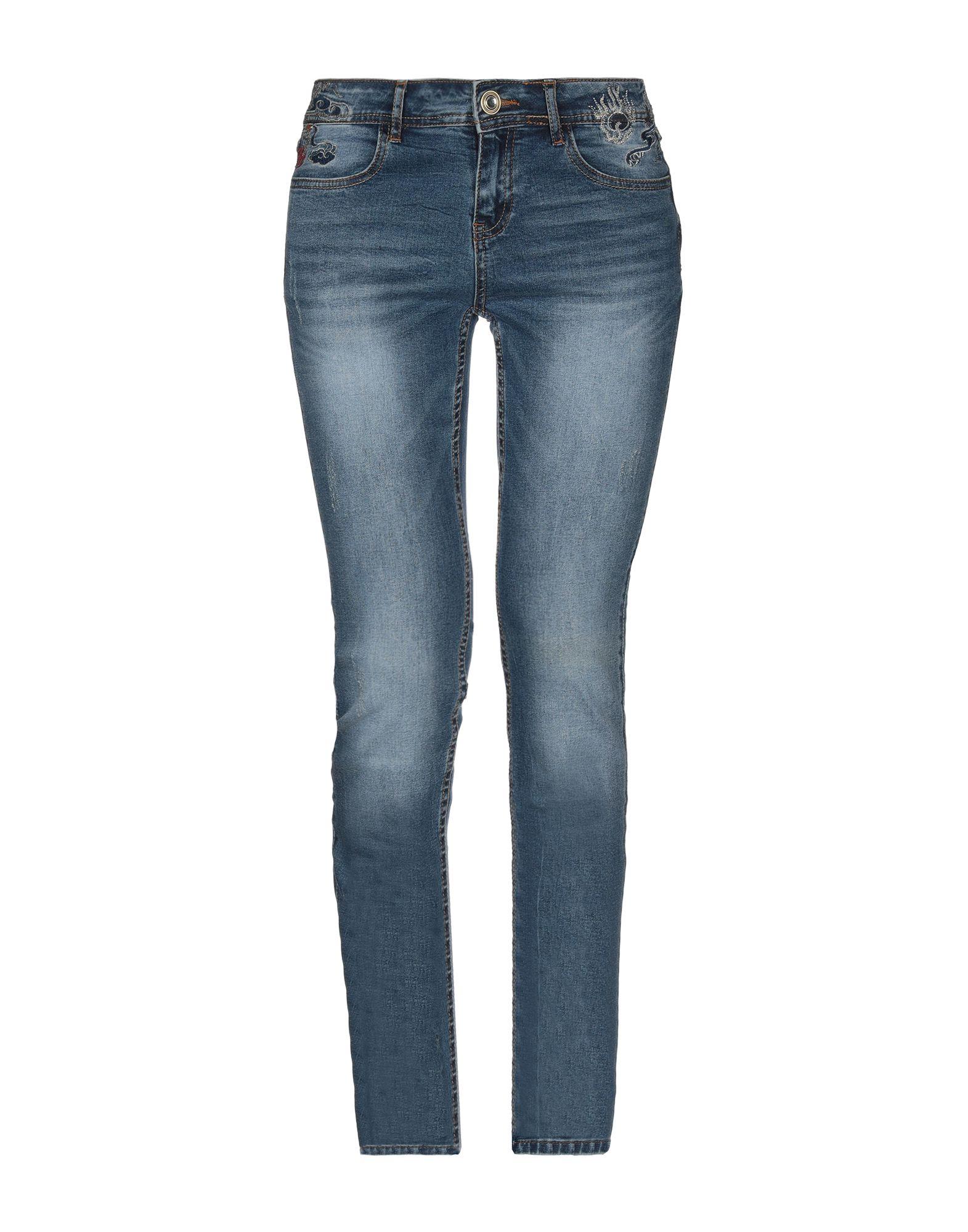 купить DESIGUAL Джинсовые брюки по цене 8000 рублей