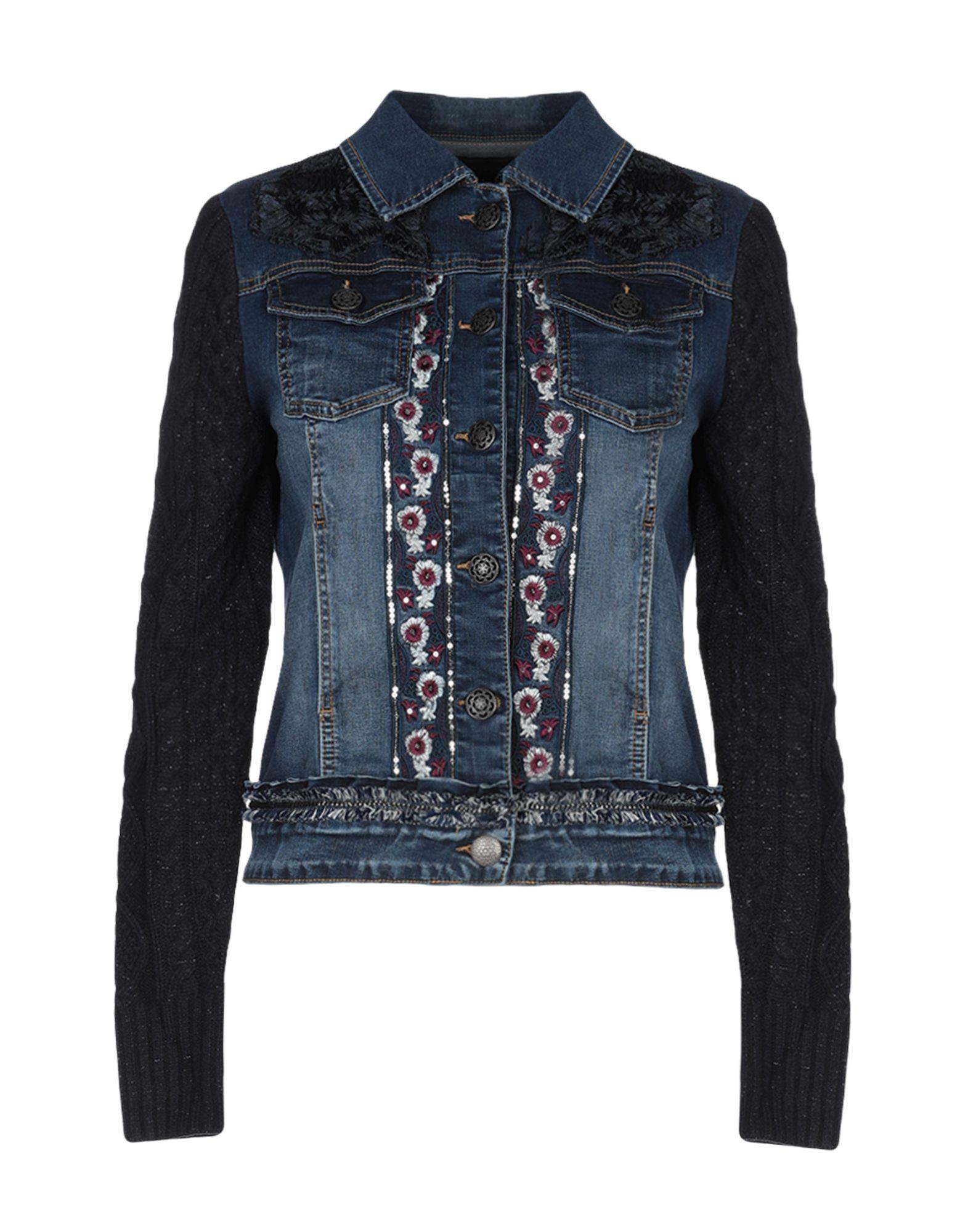 DESIGUAL Джинсовая верхняя одежда брендовая одежда