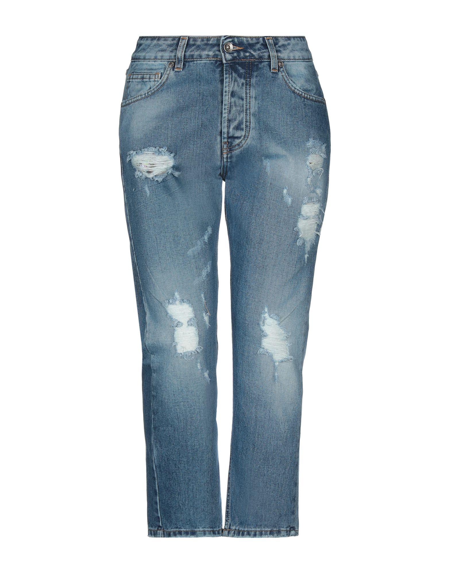 цена NICEBRAND Джинсовые брюки-капри