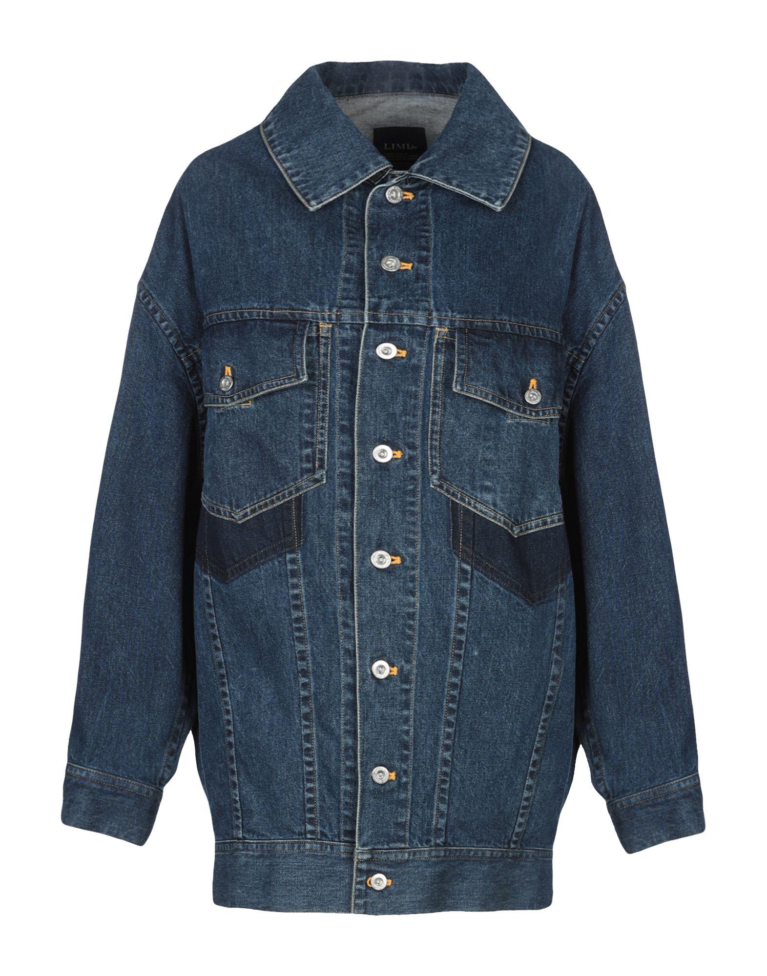 LIMI FEU Джинсовая верхняя одежда цены онлайн