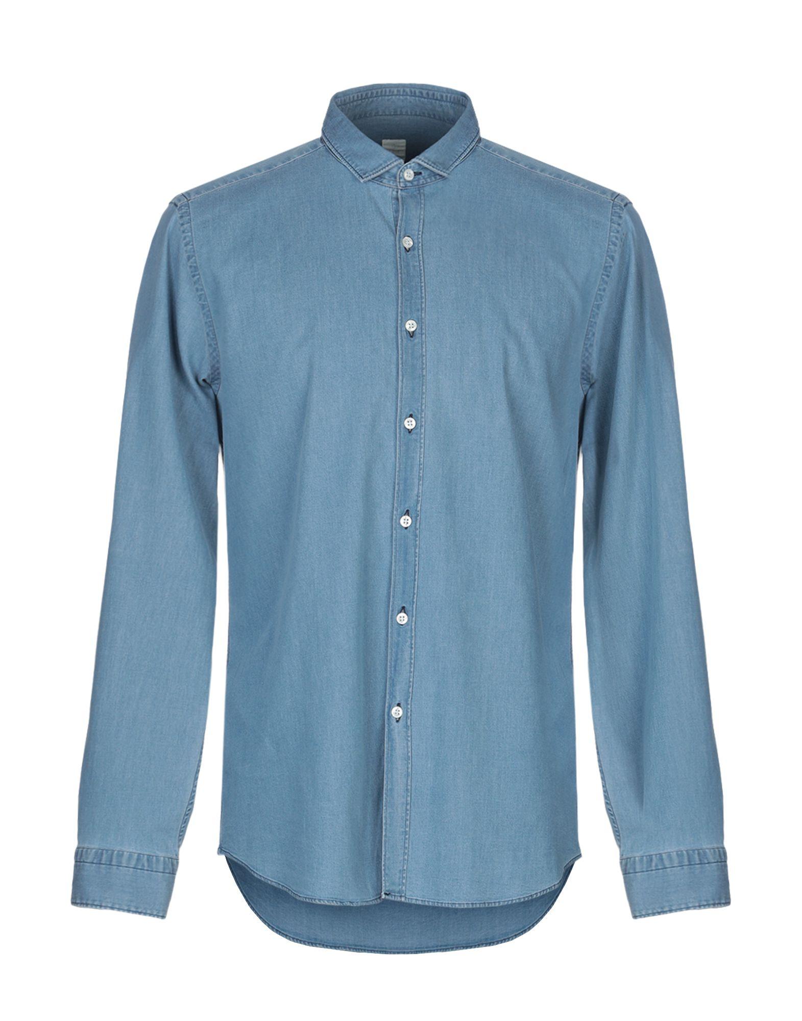 GMF 965 Джинсовая рубашка цена