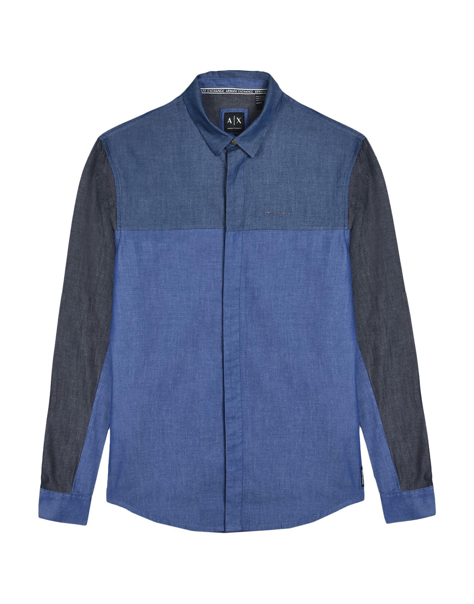 ARMANI EXCHANGE Джинсовая рубашка