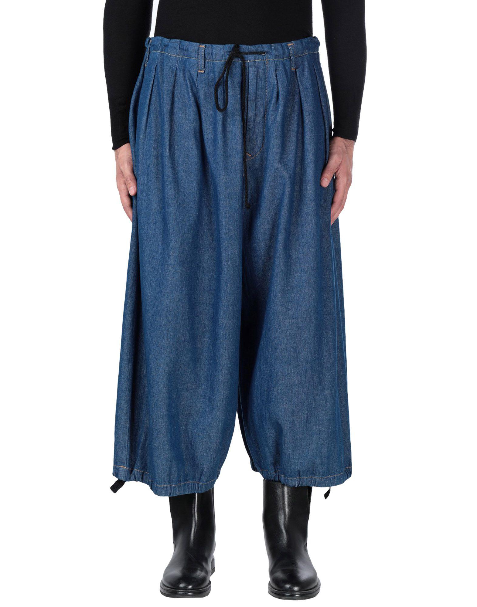 YOHJI YAMAMOTO Джинсовые брюки yohji senses 2013