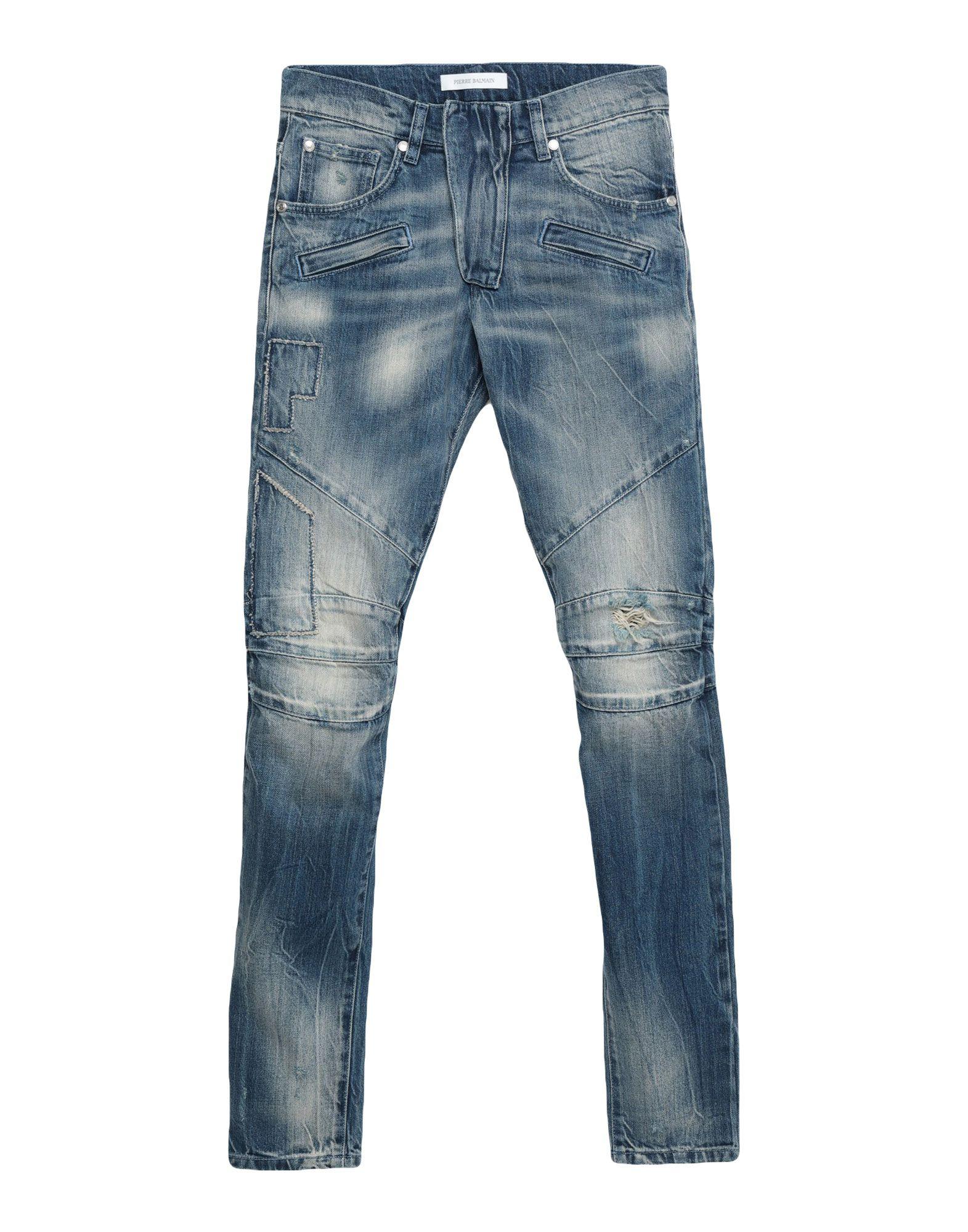 PIERRE BALMAIN Джинсовые брюки
