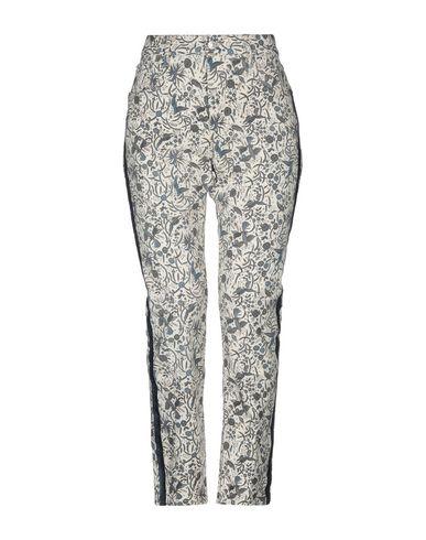 Купить Джинсовые брюки от ISABEL MARANT ÉTOILE бежевого цвета