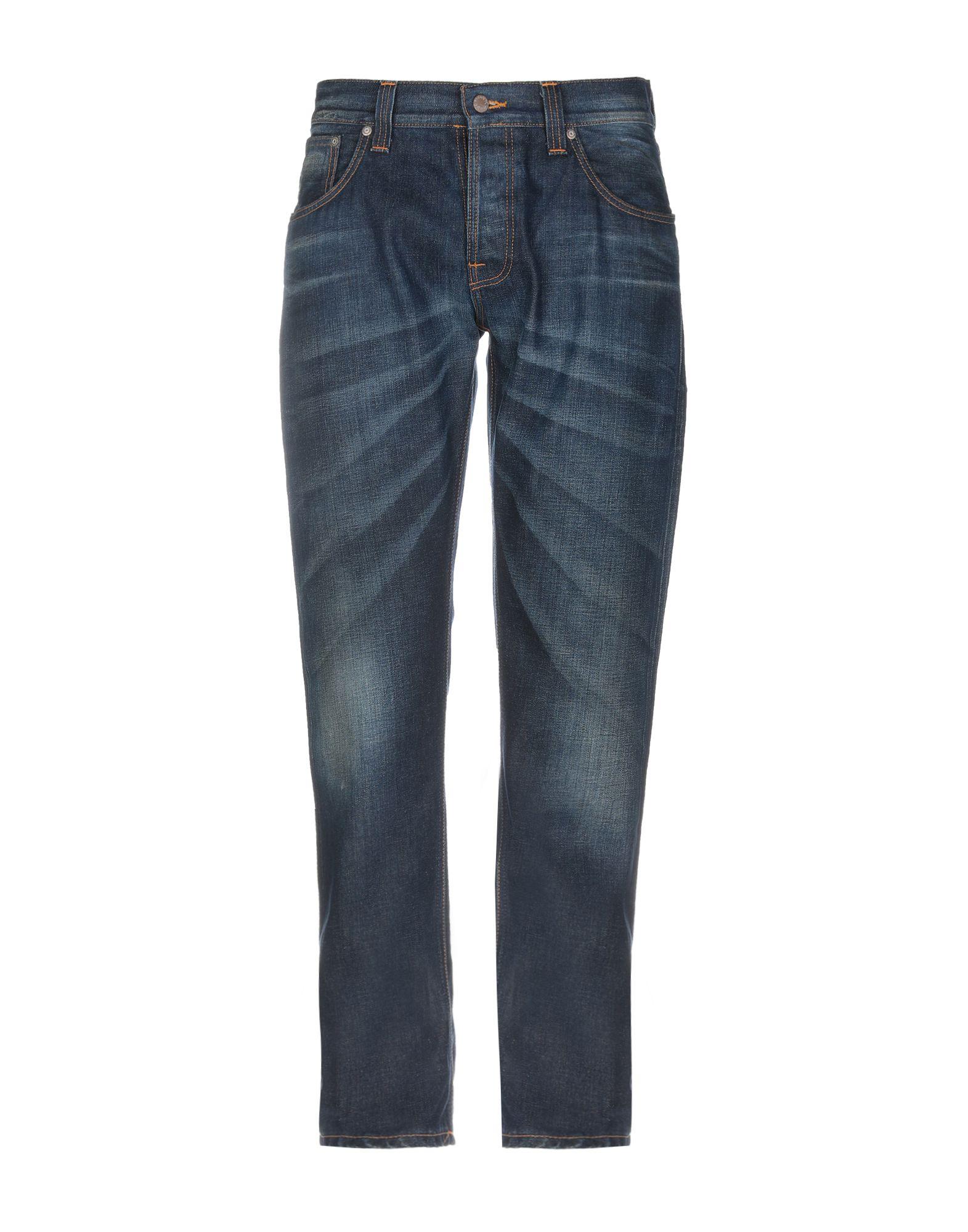 NUDIE JEANS CO Джинсовые брюки недорго, оригинальная цена