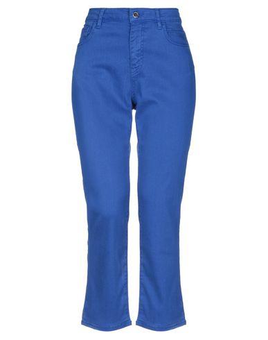 Купить Джинсовые брюки ярко-синего цвета