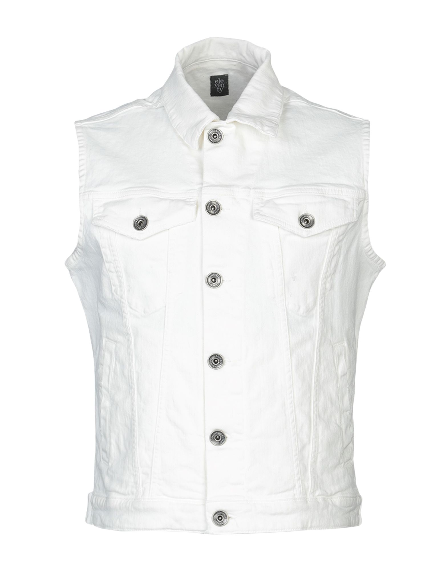 ELEVENTY Джинсовая верхняя одежда цена 2017