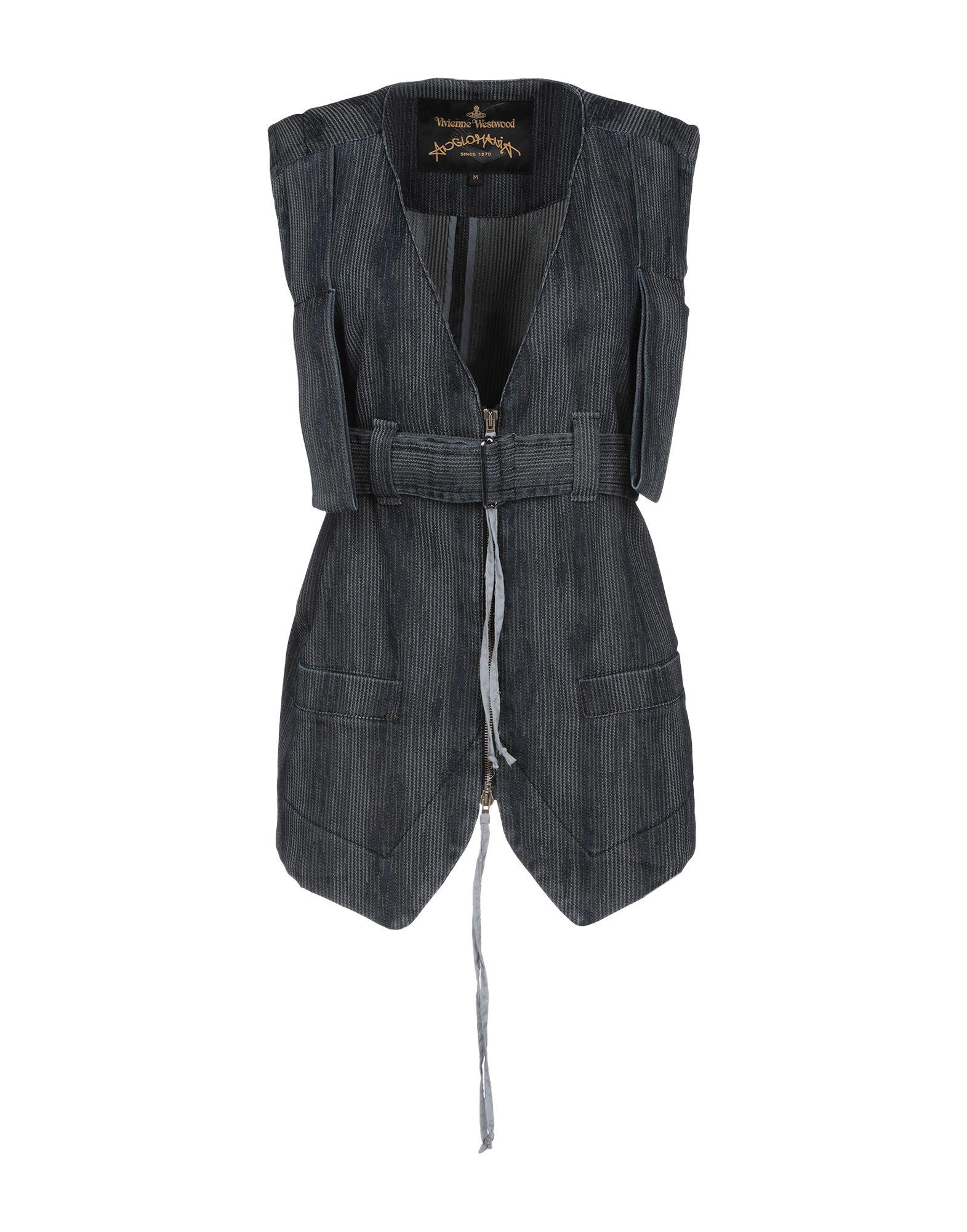 VIVIENNE WESTWOOD ANGLOMANIA Джинсовая верхняя одежда