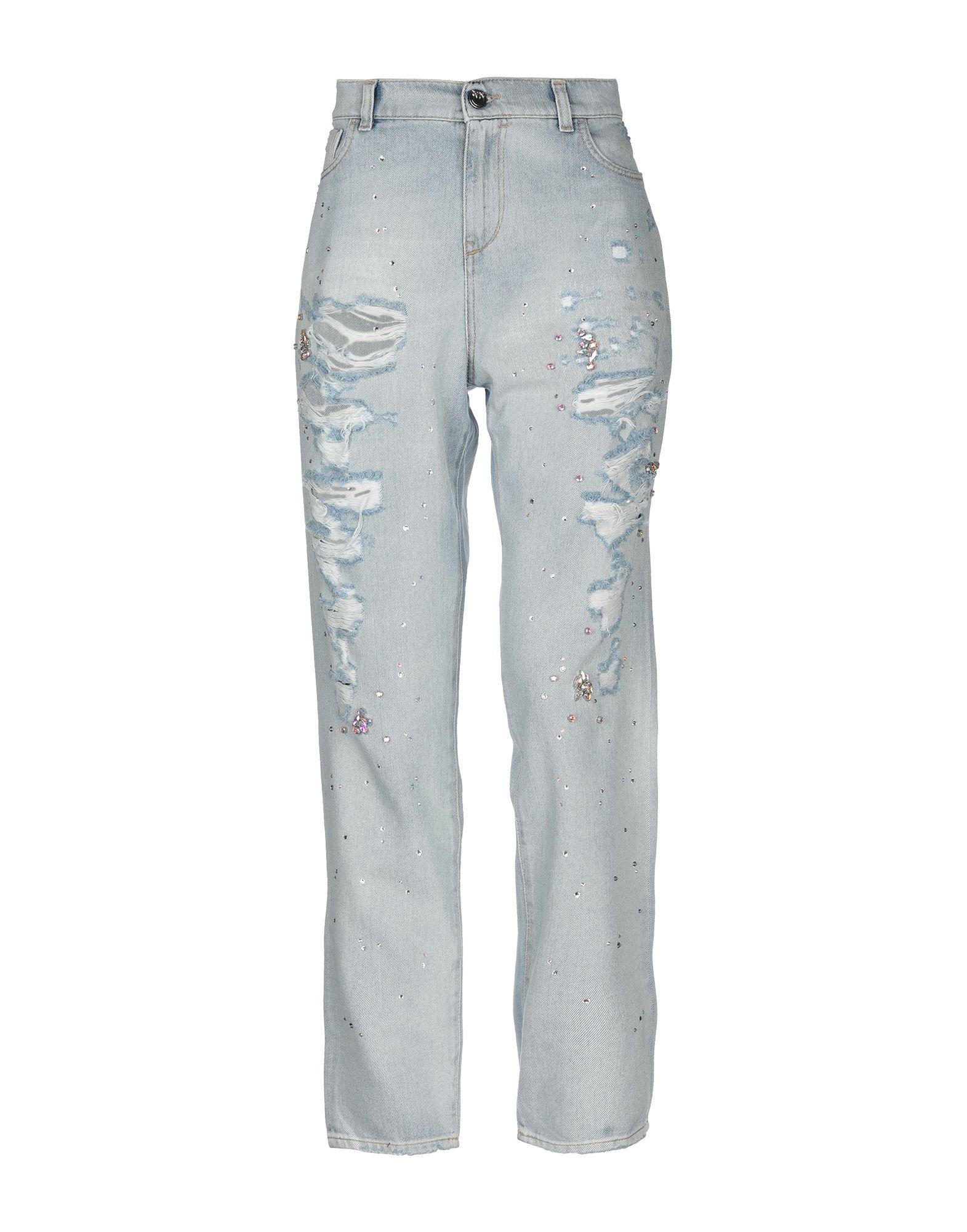 PINKO Джинсовые брюки брюки pinko одежда в стиле кэжуал