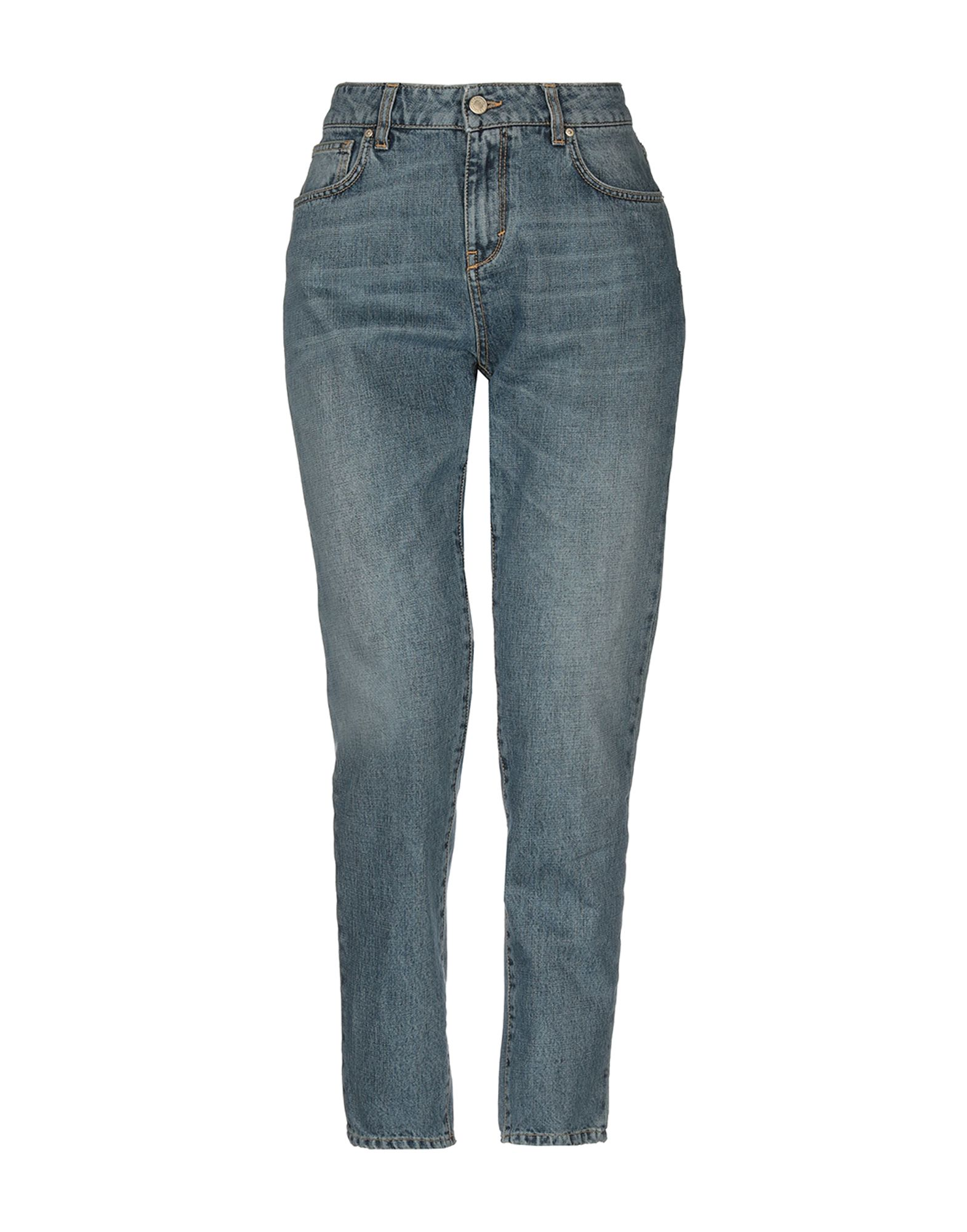 UP ★ JEANS Джинсовые брюки rolled up mom jeans