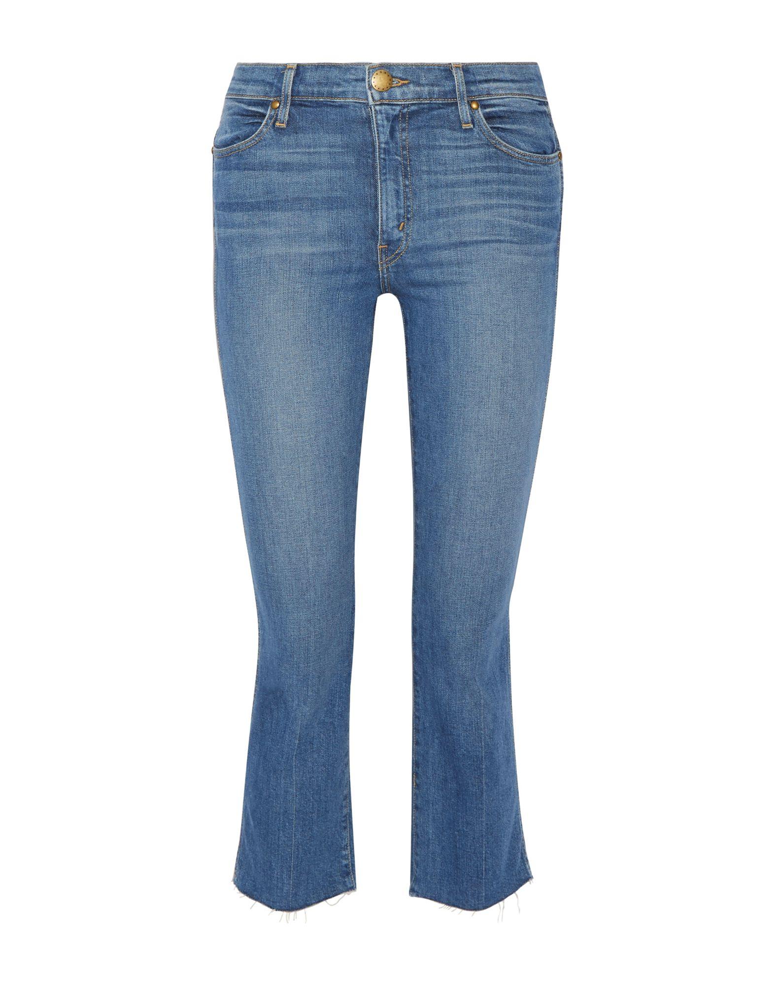 THE GREAT. Джинсовые брюки-капри the great повседневные брюки