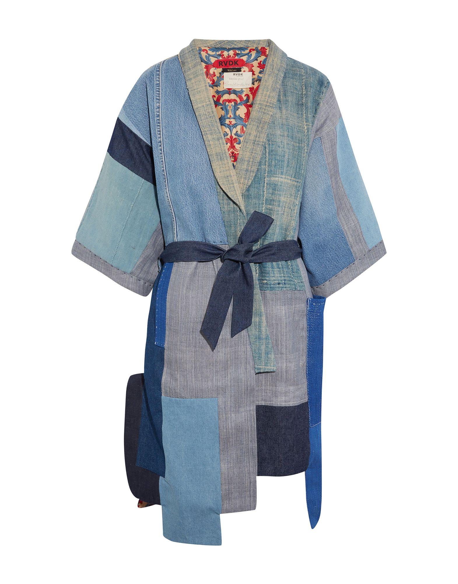 купить RONALD VAN DER KEMP Джинсовая верхняя одежда по цене 90450 рублей