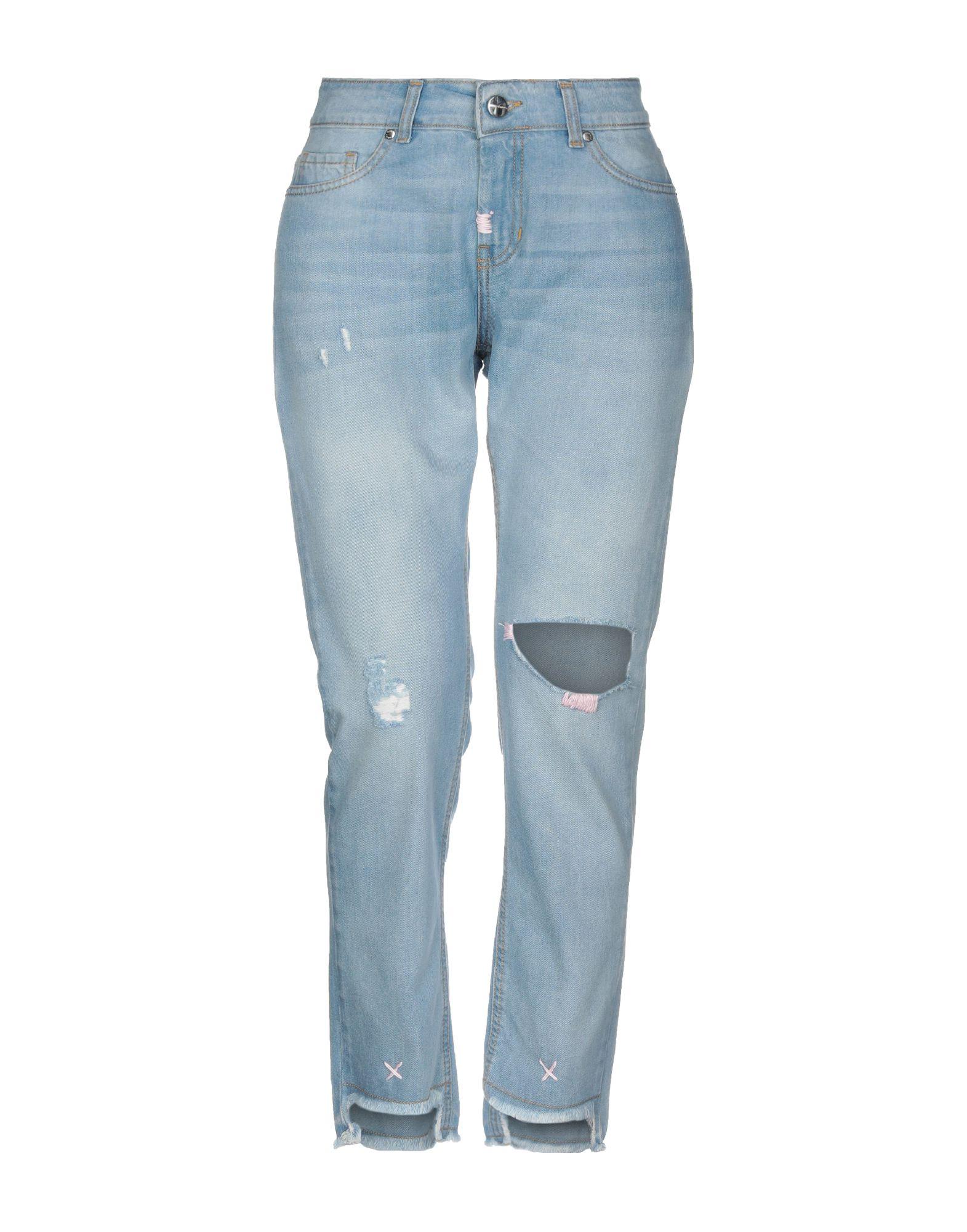 ANIMAGEMELLA Джинсовые брюки цена и фото