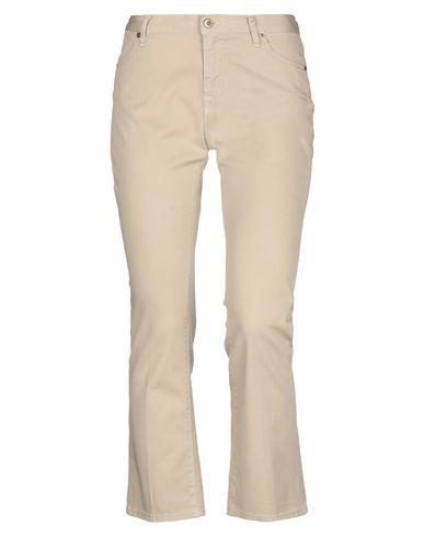 Фото - Джинсовые брюки от TRUE NYC. бежевого цвета