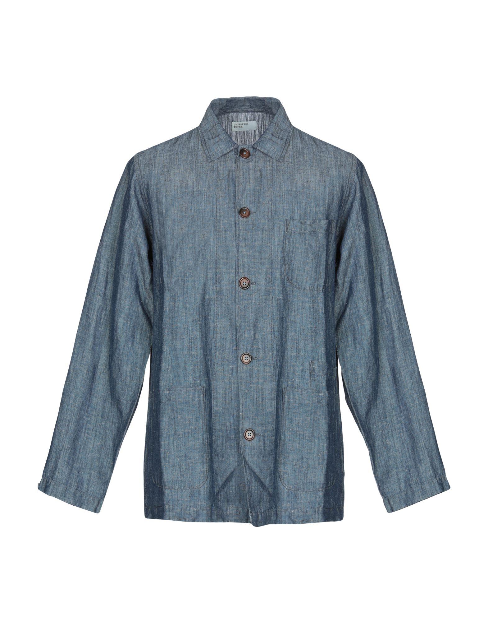 UNIVERSAL WORKS Джинсовая рубашка недорго, оригинальная цена