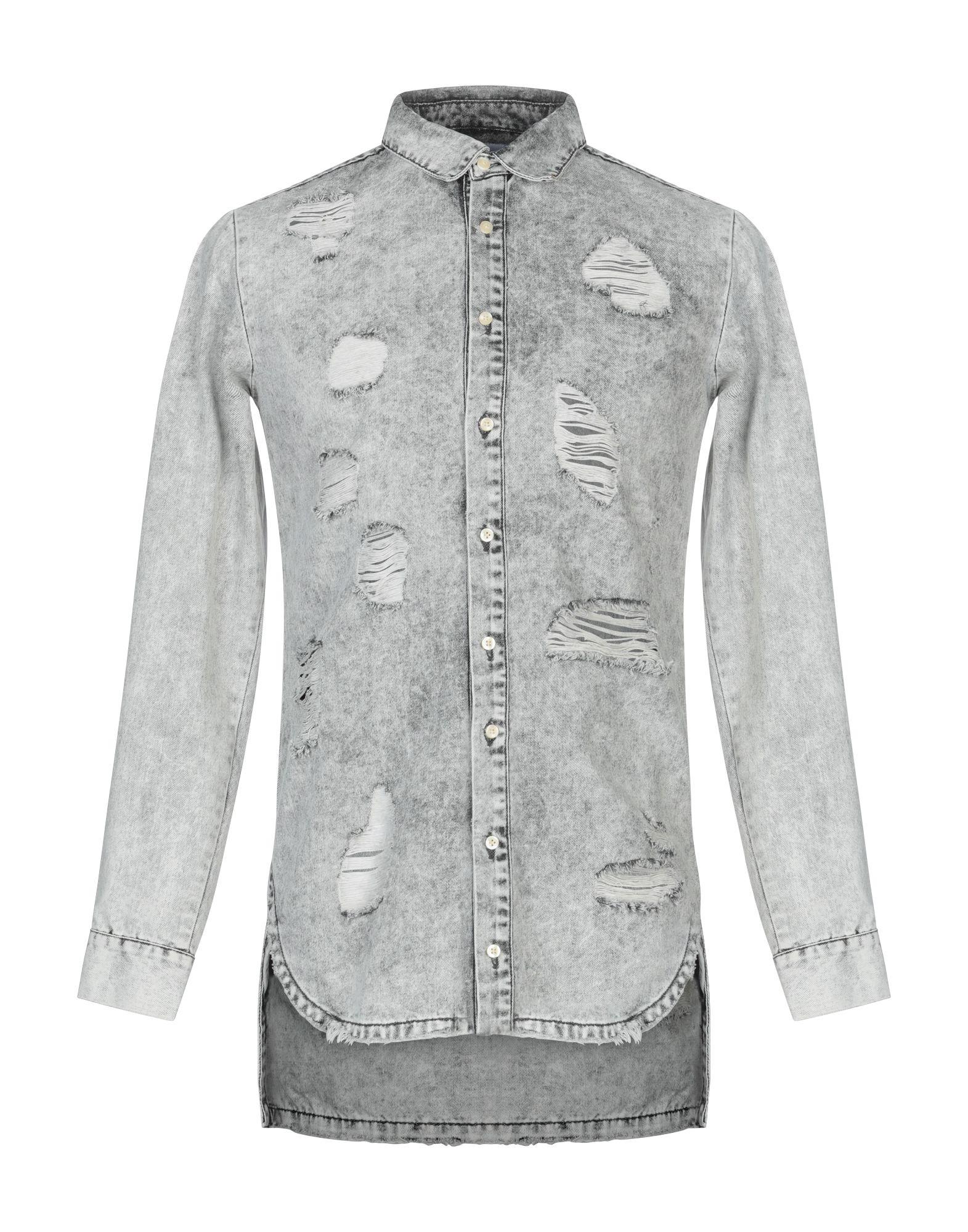 SIXTH JUNE Джинсовая рубашка sixth june w1676vsw blanc