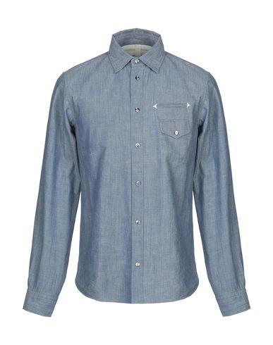 Фото - Джинсовая рубашка от M TOKYO JAPAN синего цвета