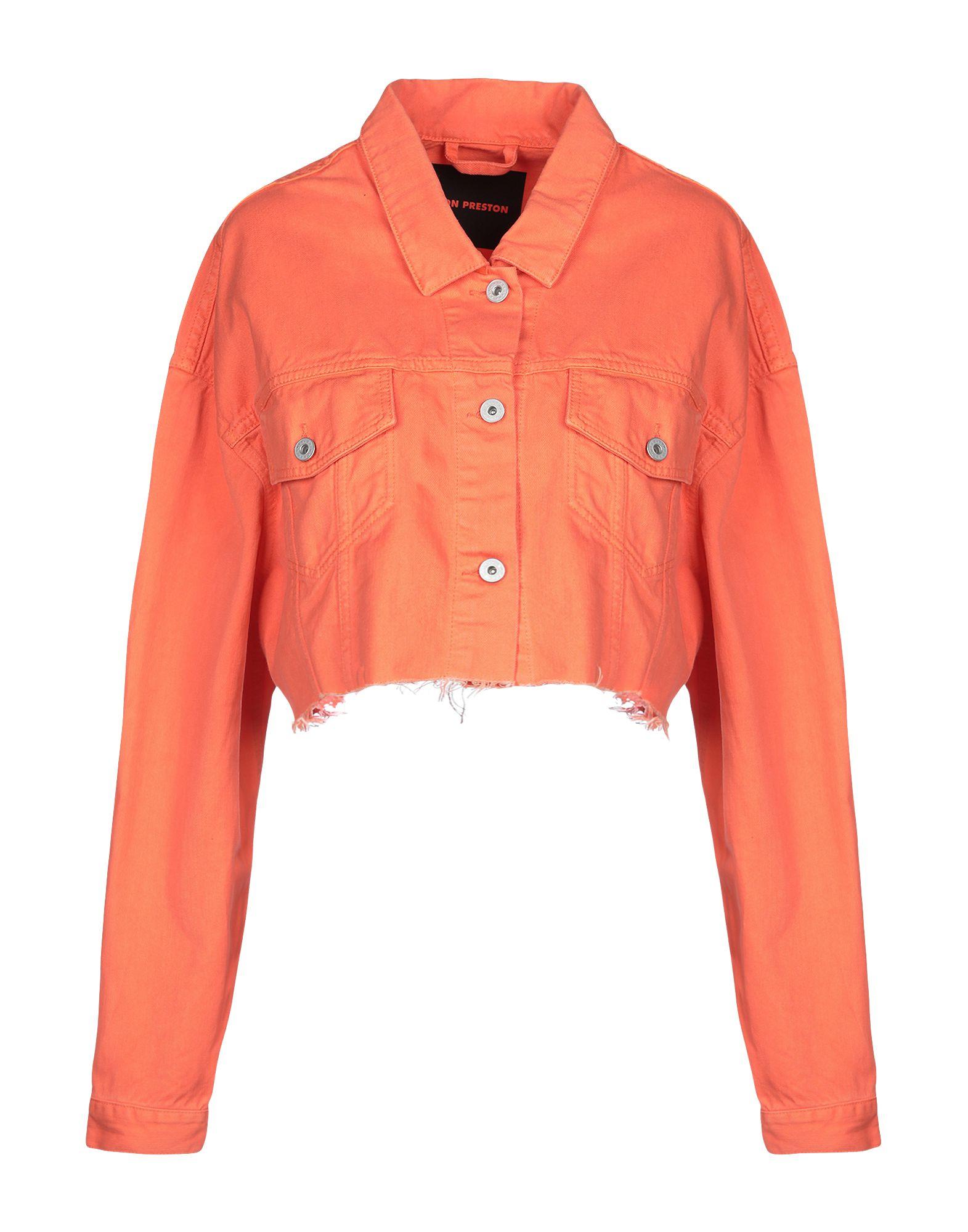 HERON PRESTON Джинсовая верхняя одежда