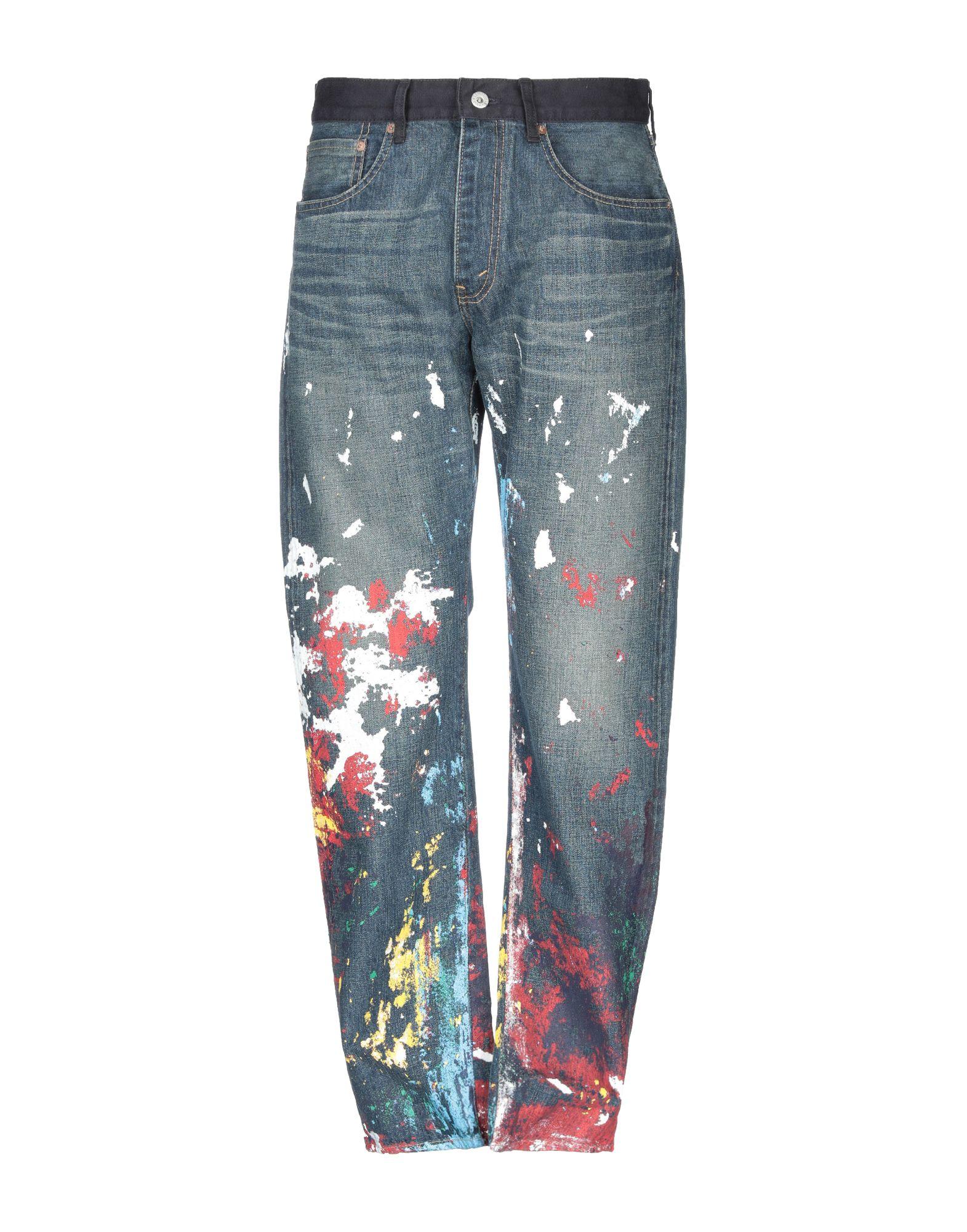 где купить JUNYA WATANABE COMME des GARÇONS MAN X LEVI'S Джинсовые брюки по лучшей цене
