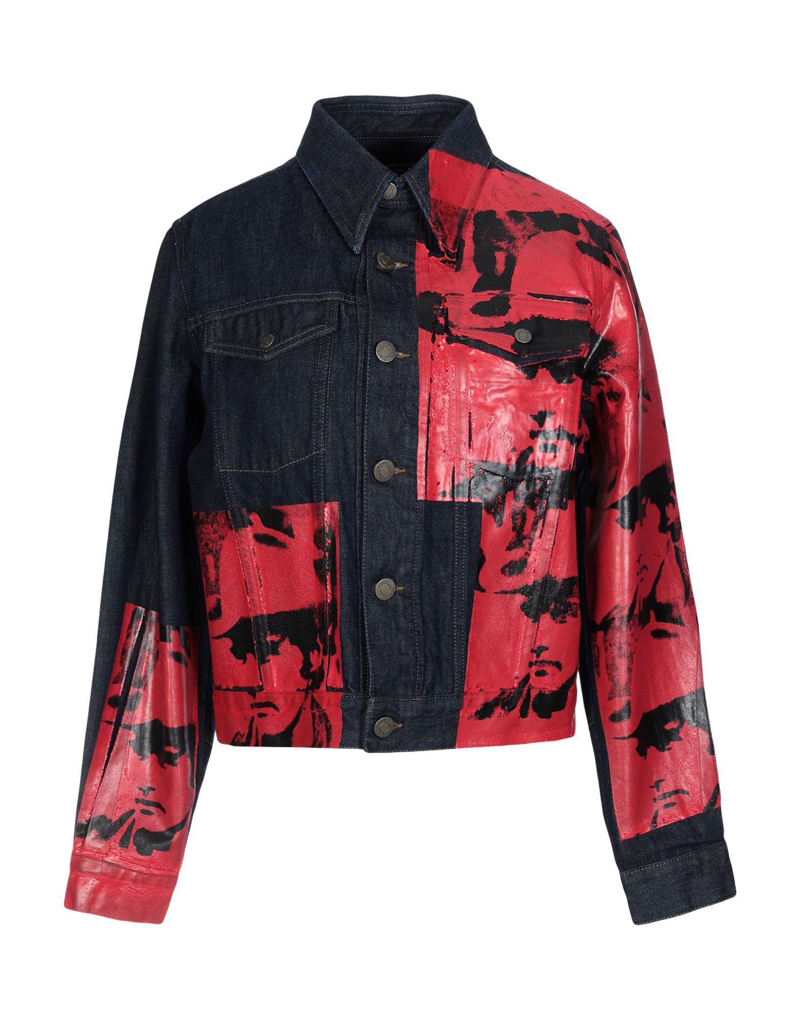 ANDY WARHOL Джинсовая верхняя одежда цена 2017