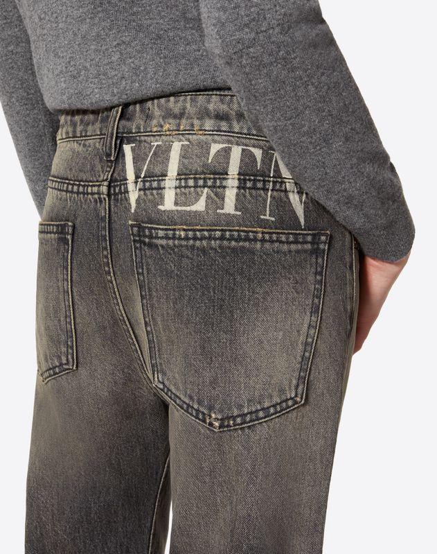 VLTN Black Denim Jeans
