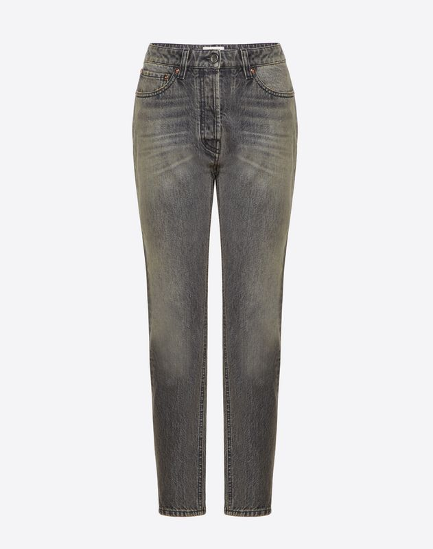 VLTN Black Denim Jeans