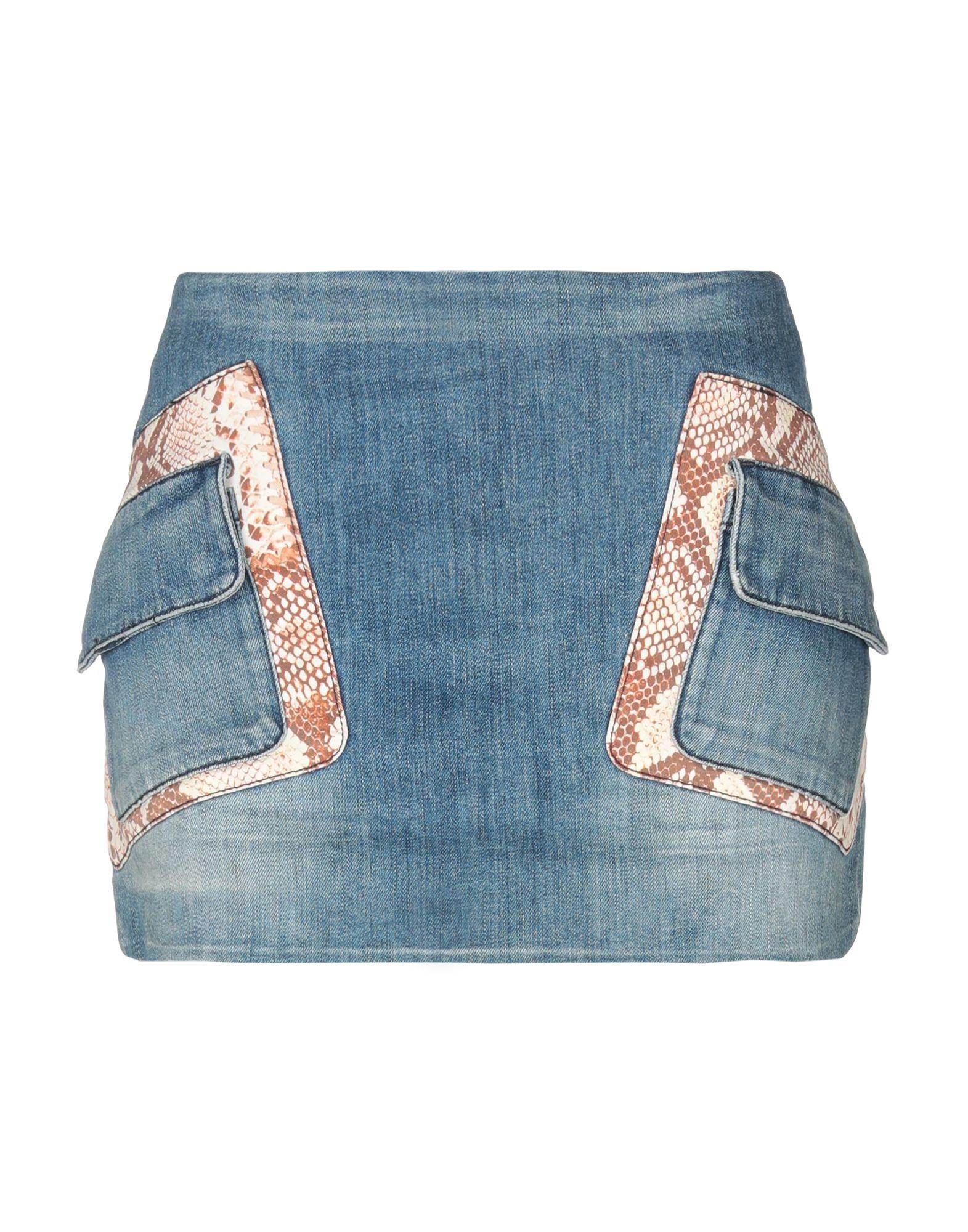 JUST CAVALLI Джинсовая юбка vinemo vorneoco корейская версия высокой талии слот пакет юбка джинсовая юбка юбка юбка r1540 серый xl