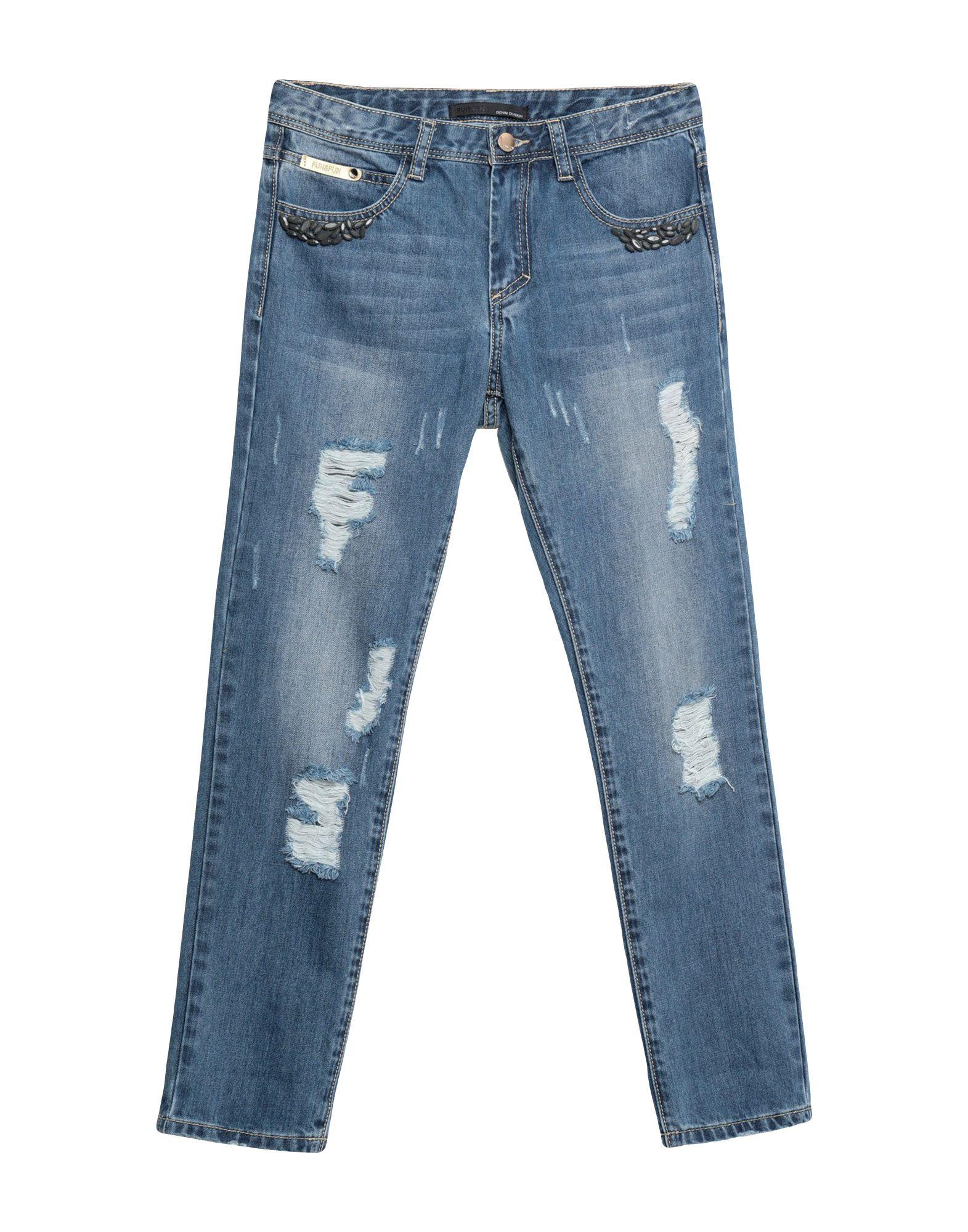 FUN & FUN Джинсовые брюки