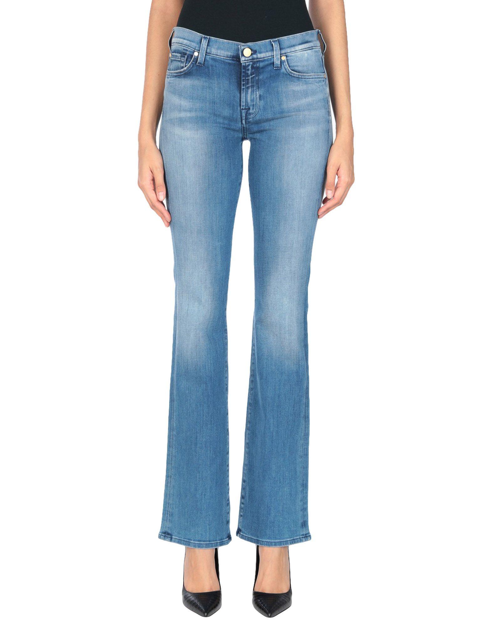 7 FOR ALL MANKIND Джинсовые брюки