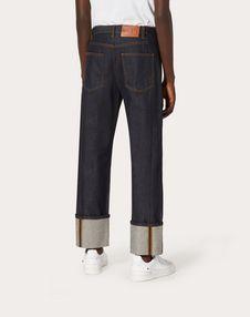 宽松牛仔裤